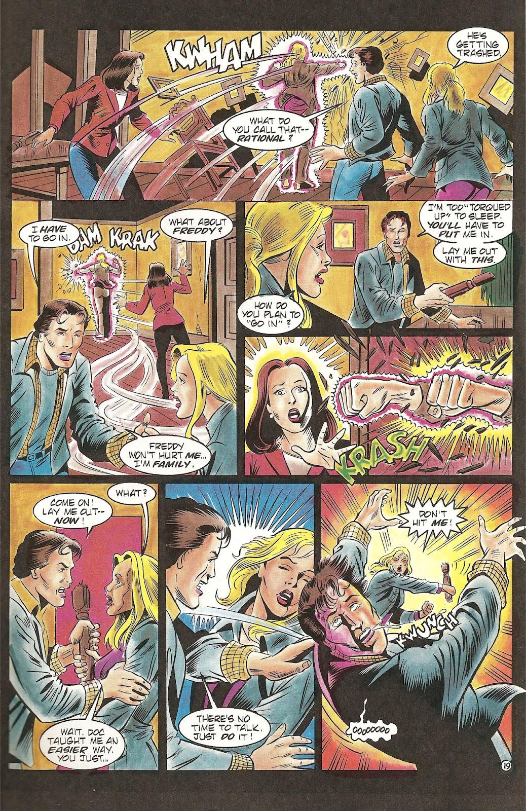 Read online Freddy's Dead: The Final Nightmare comic -  Issue #2 - 21