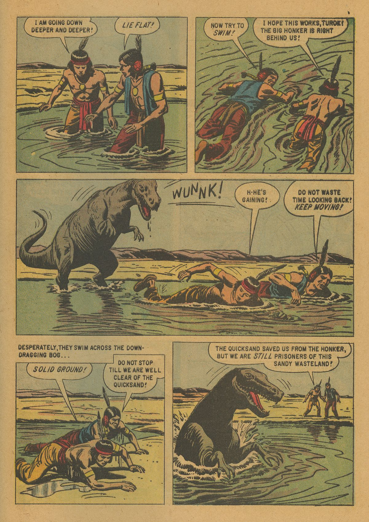 Read online Turok, Son of Stone comic -  Issue #21 - 29