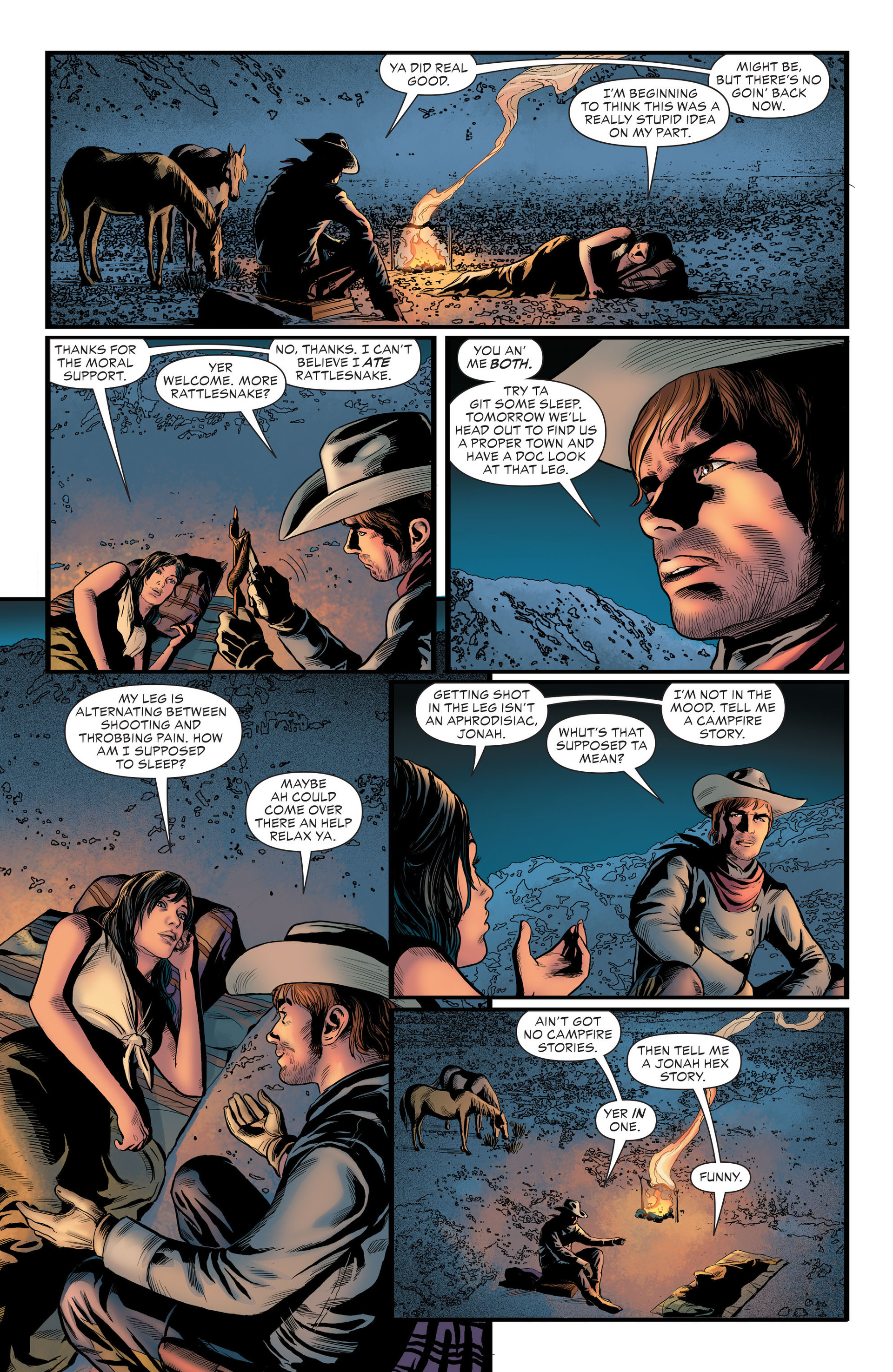 Read online All-Star Western (2011) comic -  Issue #29 - 6