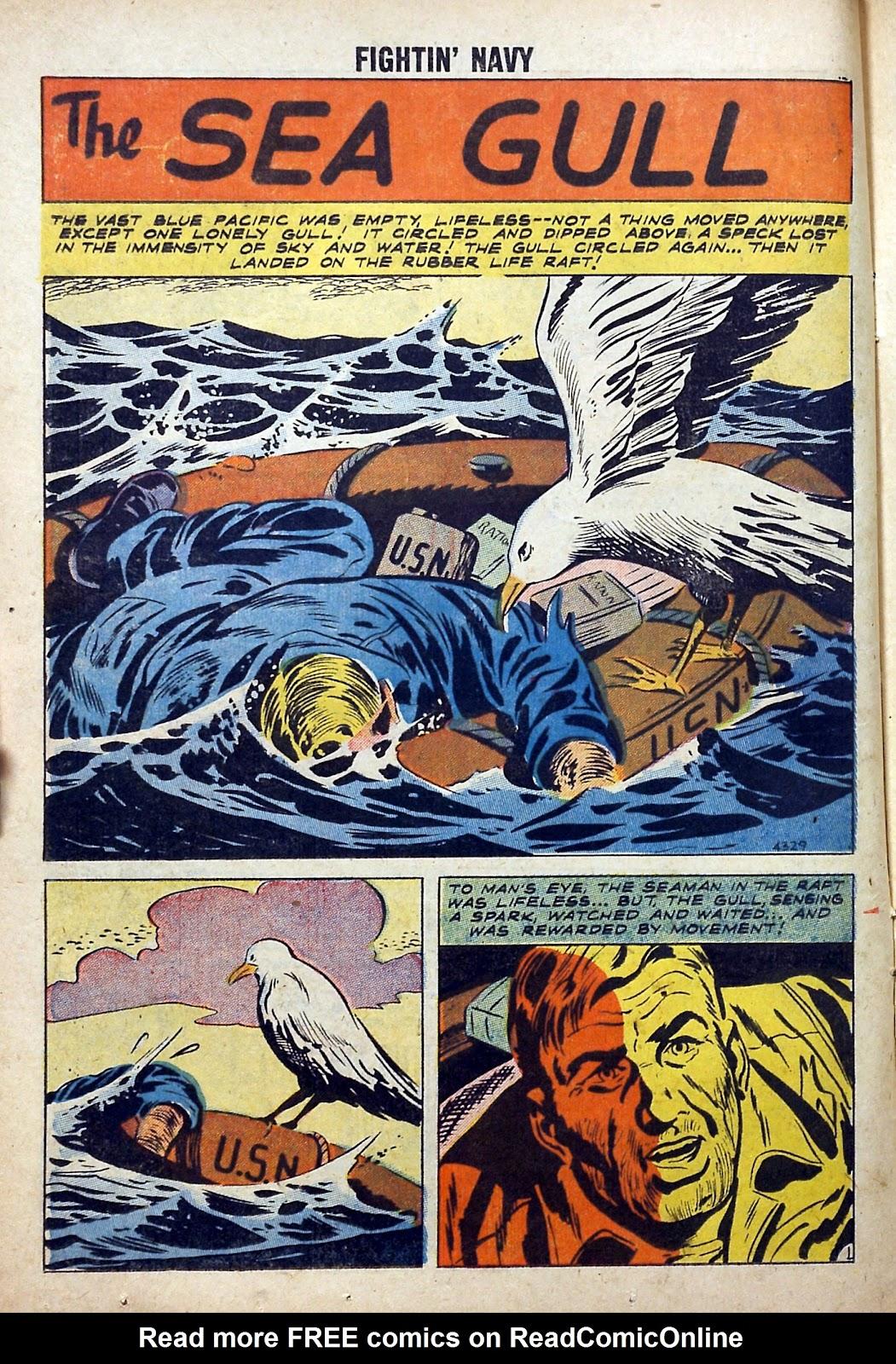 Read online Fightin' Navy comic -  Issue #84 - 14