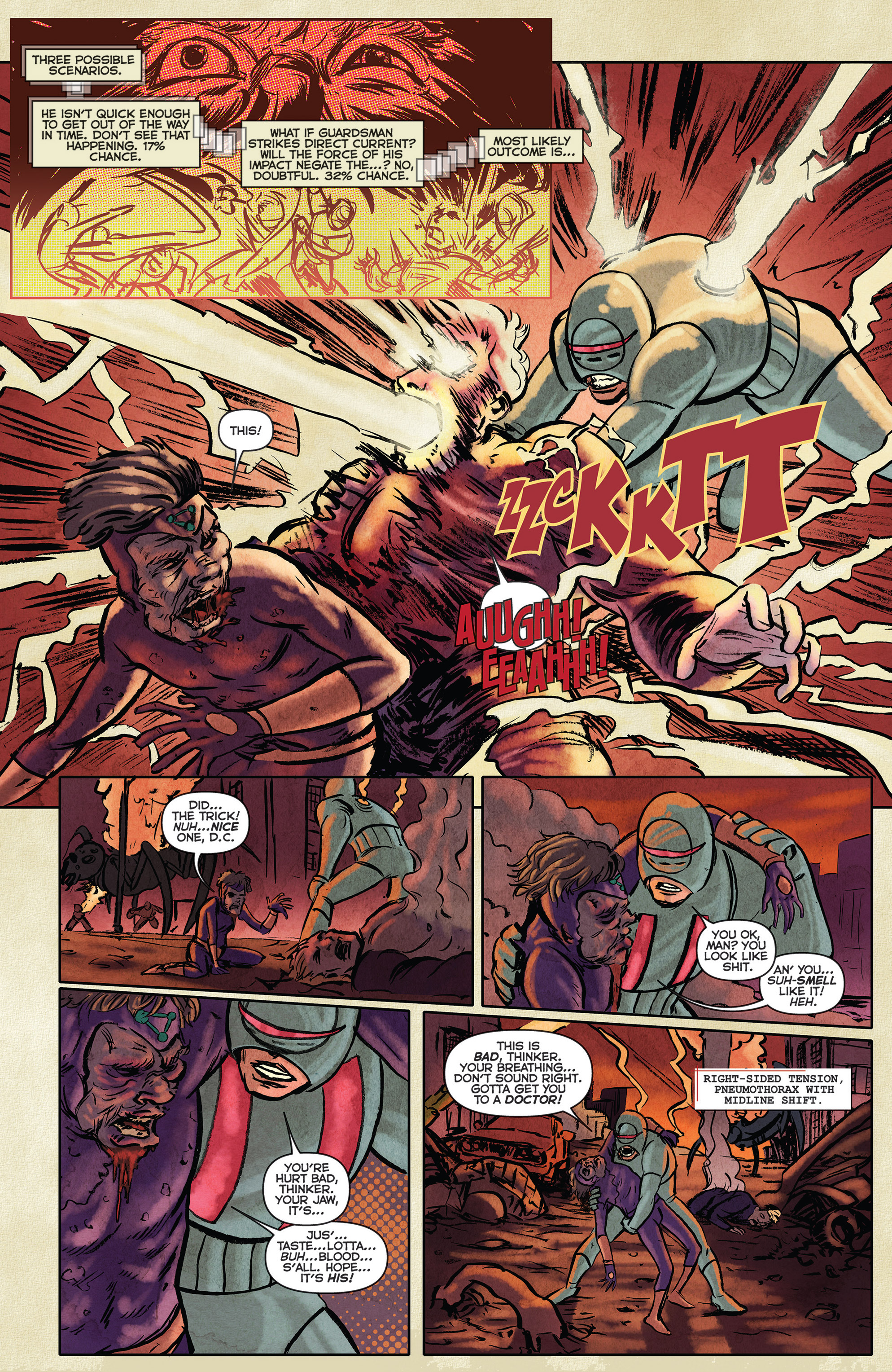 Read online Medisin comic -  Issue #1 - 5