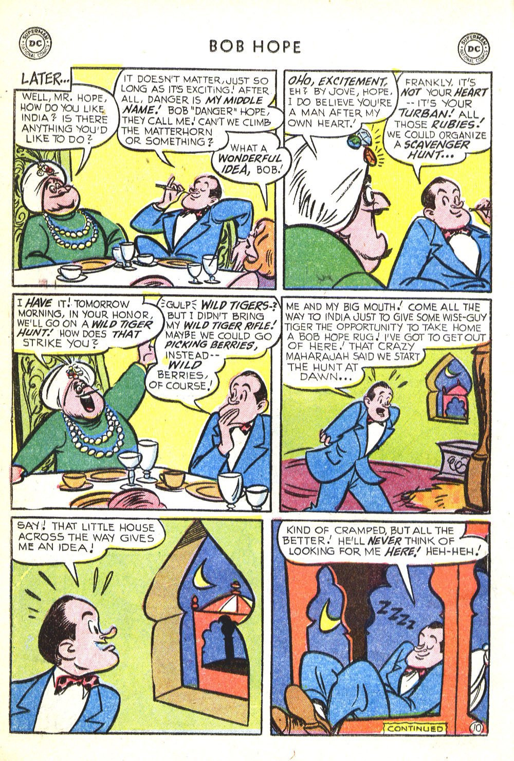 The Adventures of Bob Hope issue 30 - Page 12