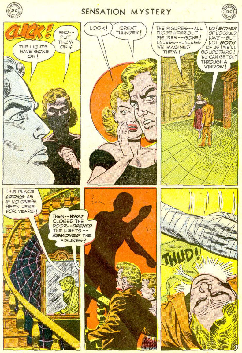 Read online Sensation (Mystery) Comics comic -  Issue #112 - 6