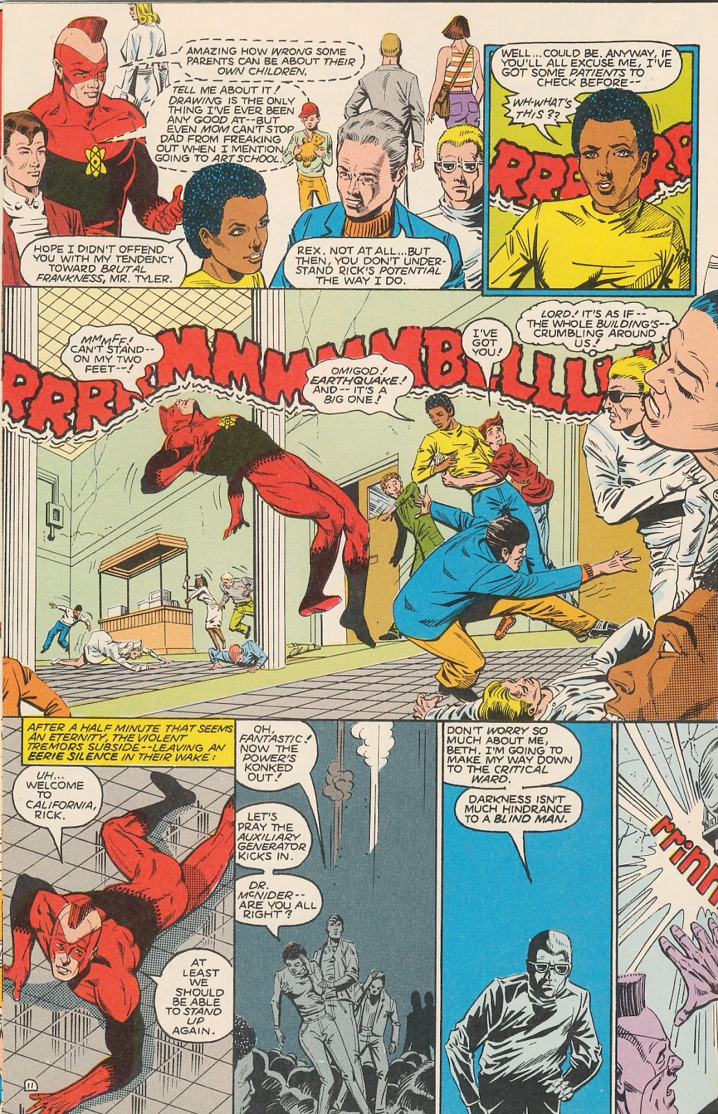 Infinity Inc. (1984) issue 20 - Page 16