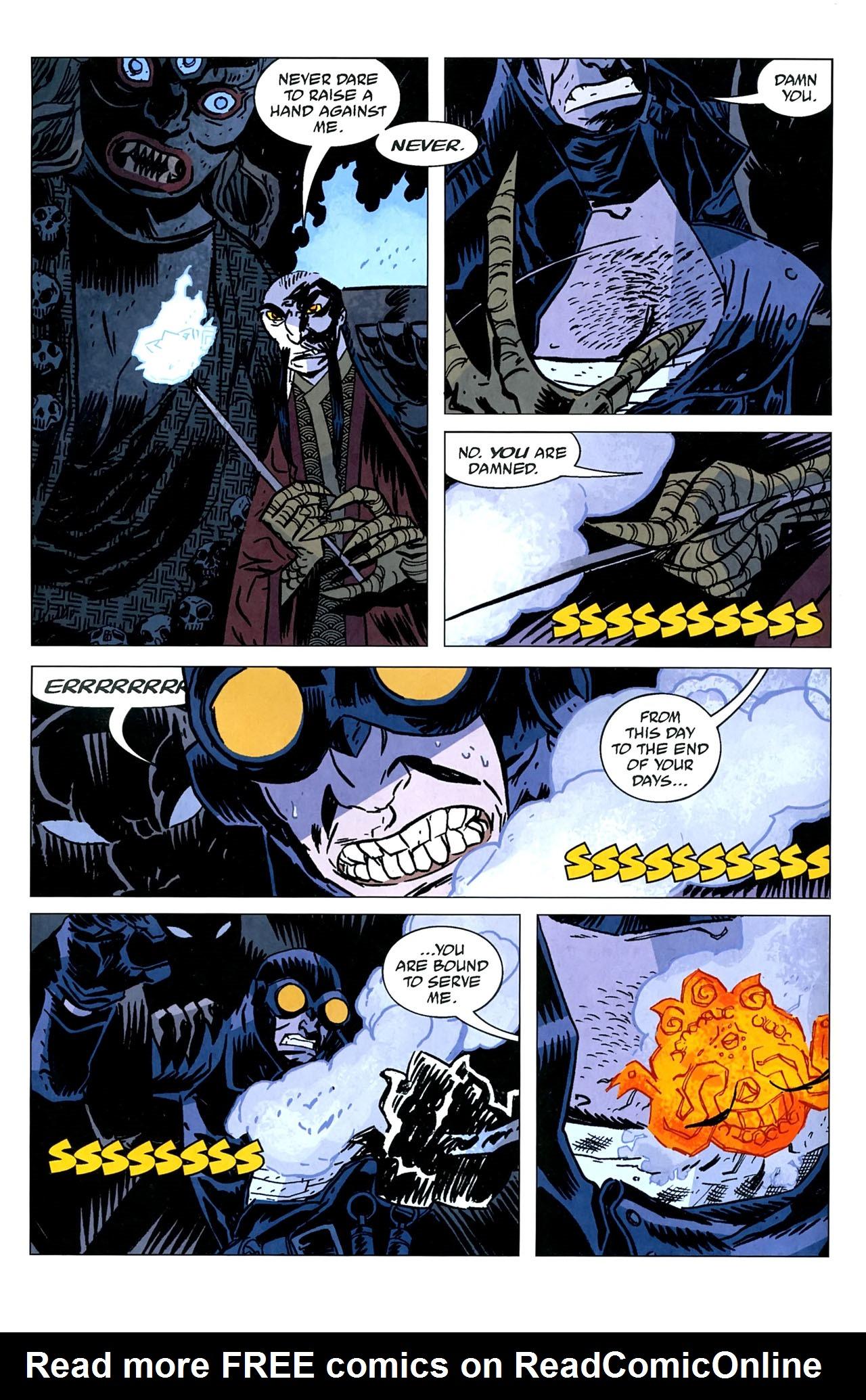 Read online Lobster Johnson: The Iron Prometheus comic -  Issue #5 - 7
