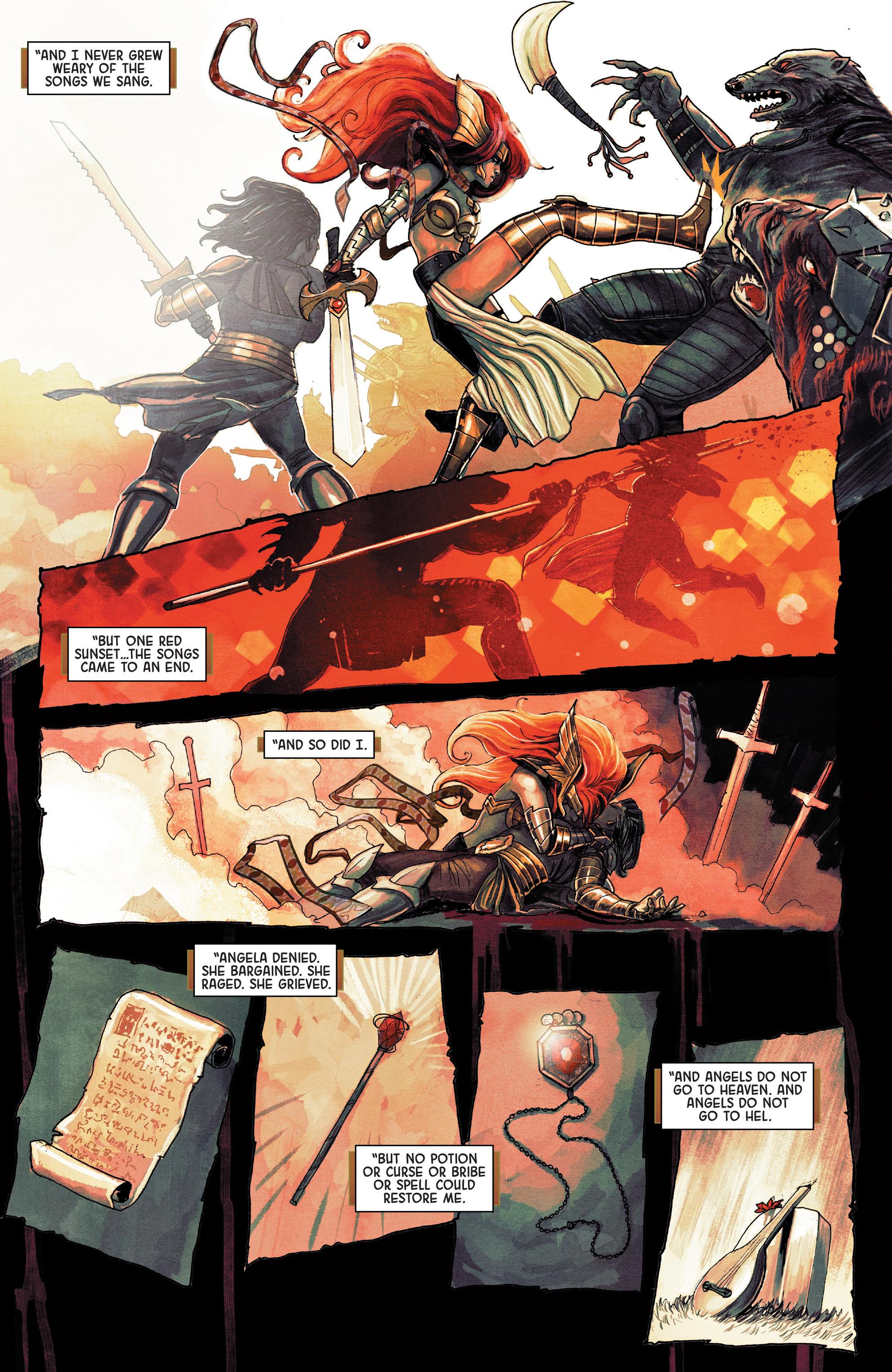 Read online Angela: Asgard's Assassin comic -  Issue #3 - 17