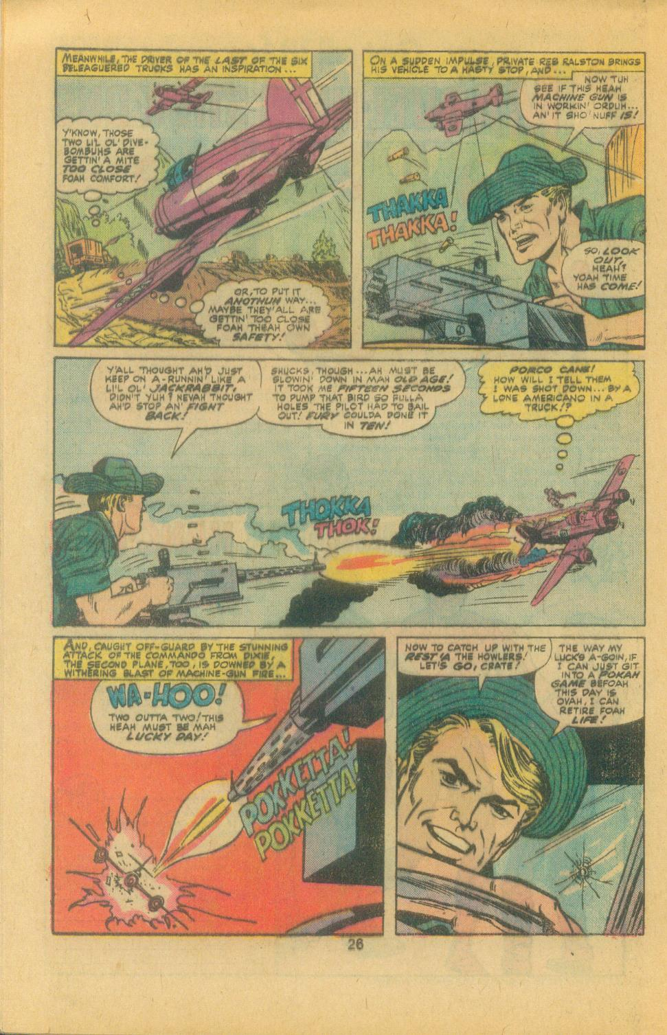 Read online Sgt. Fury comic -  Issue #132 - 28