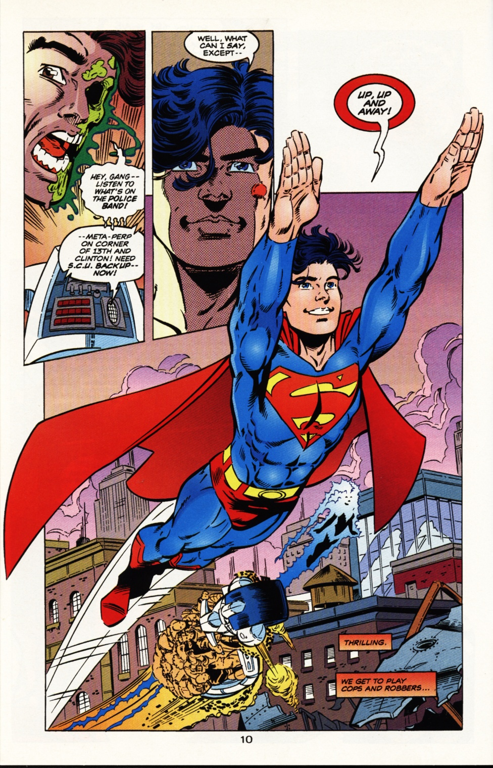 Read online Superboy & The Ravers comic -  Issue #9 - 11