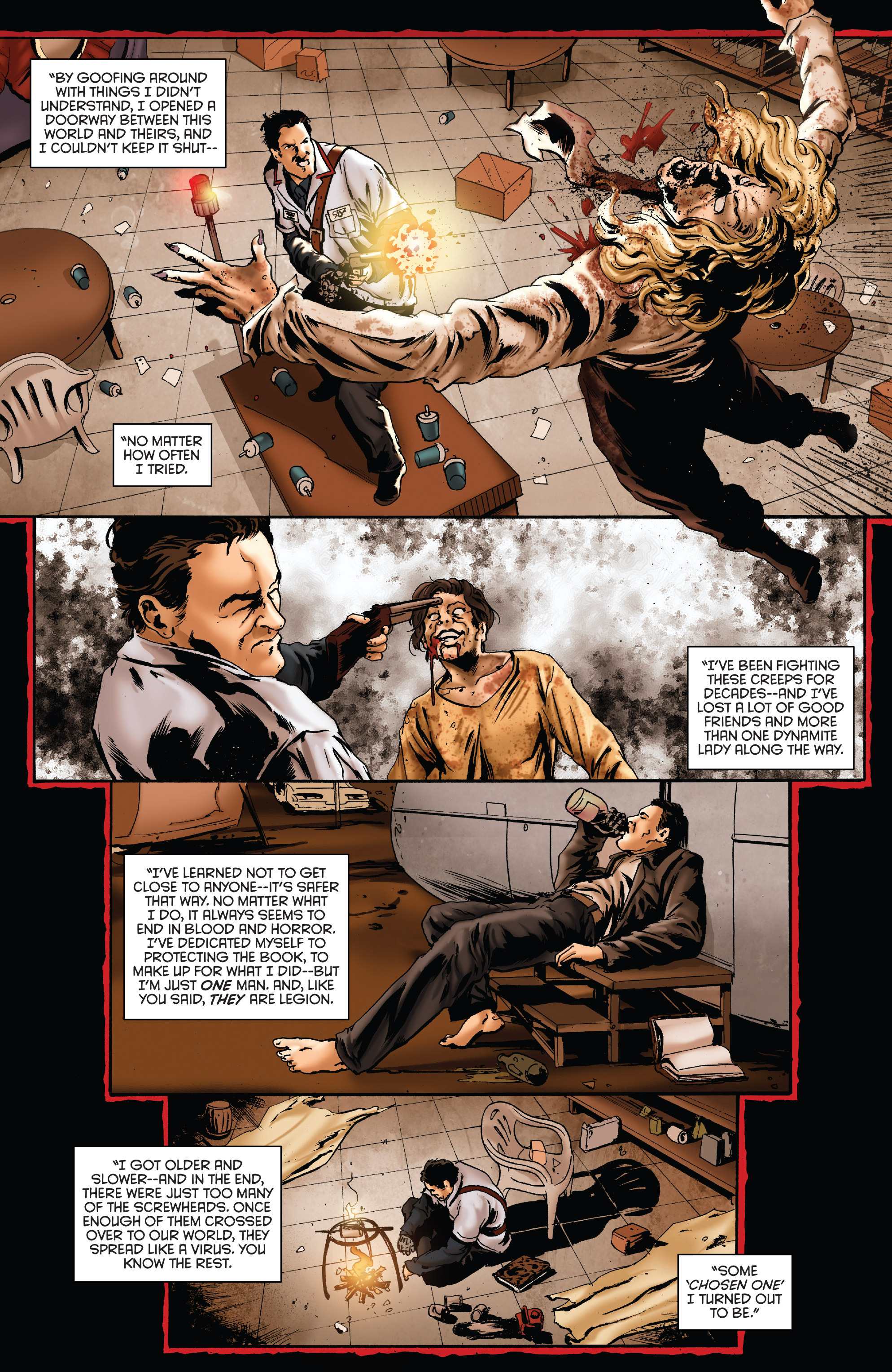 Read online Army of Darkness: Furious Road comic -  Issue #5 - 12