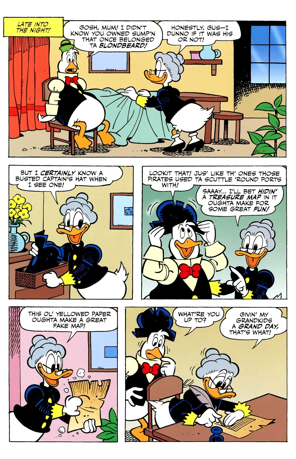 Walt Disney's Comics and Stories issue 730 - Page 24