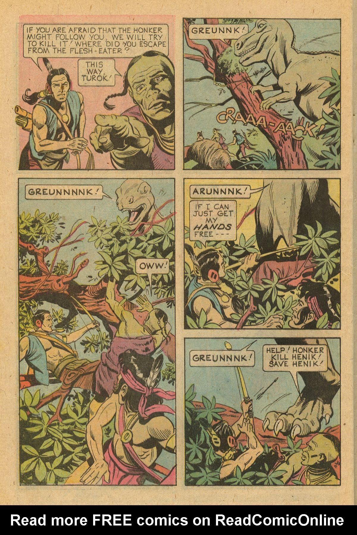 Read online Turok, Son of Stone comic -  Issue #105 - 28