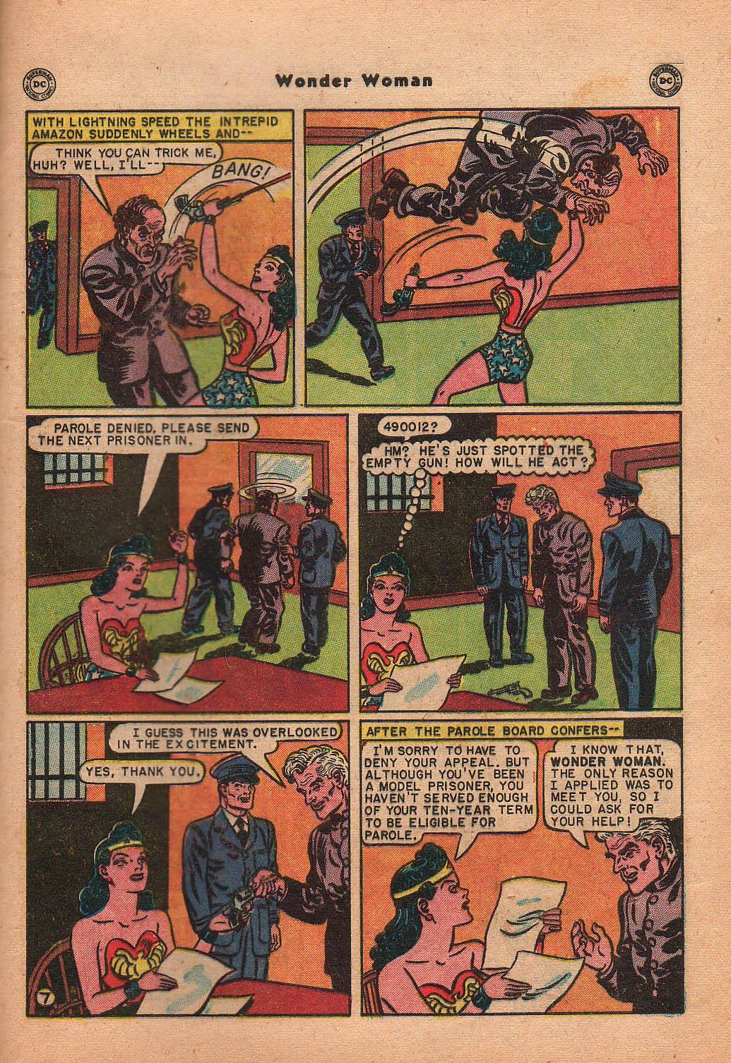 Read online Wonder Woman (1942) comic -  Issue #42 - 44
