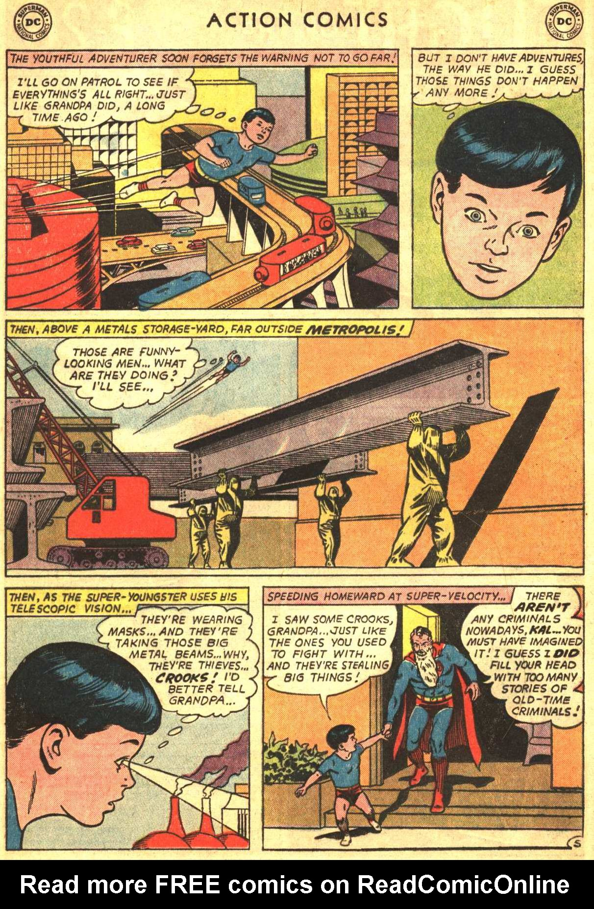 Read online Action Comics (1938) comic -  Issue #327 - 8