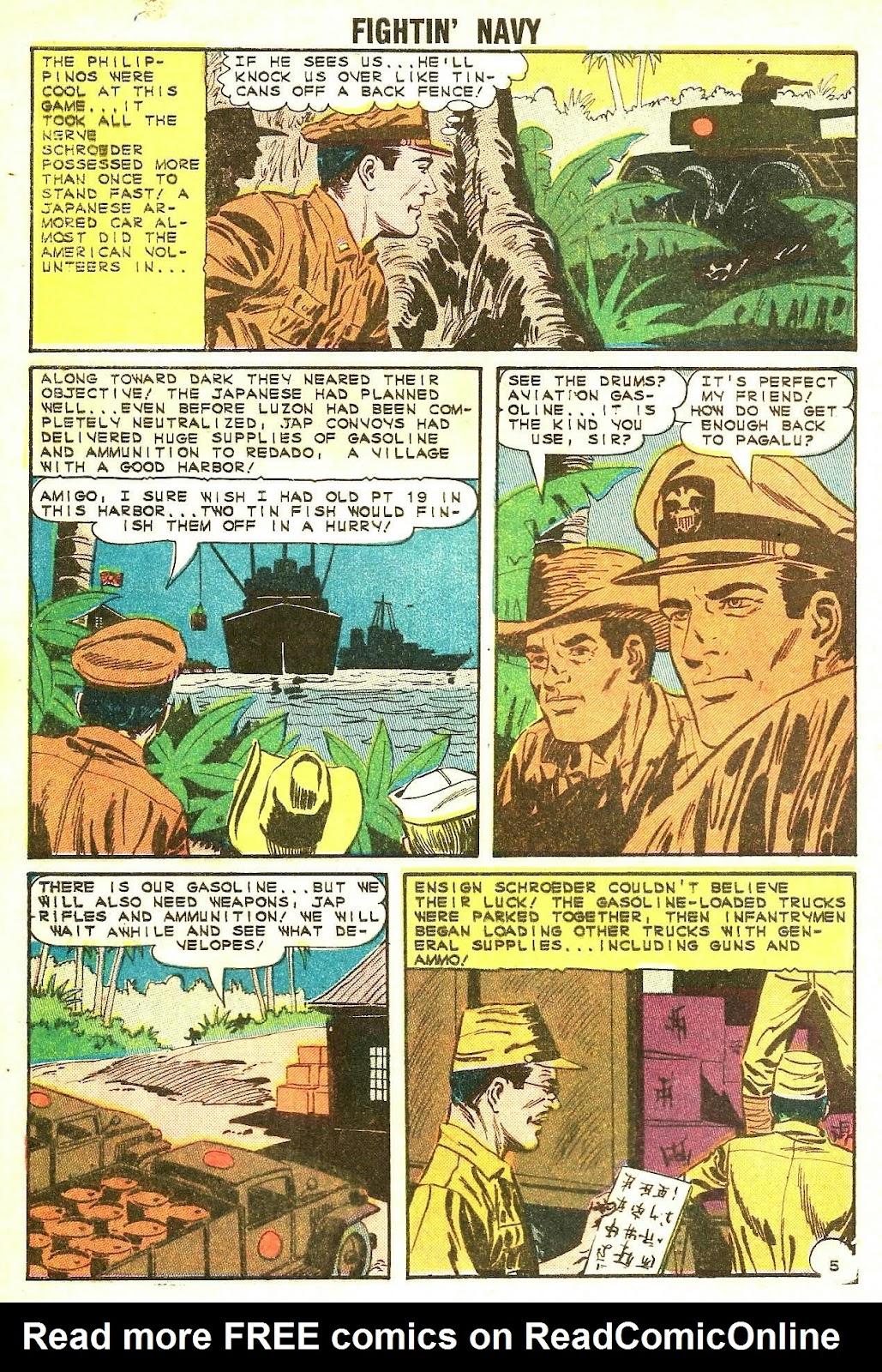 Read online Fightin' Navy comic -  Issue #117 - 8