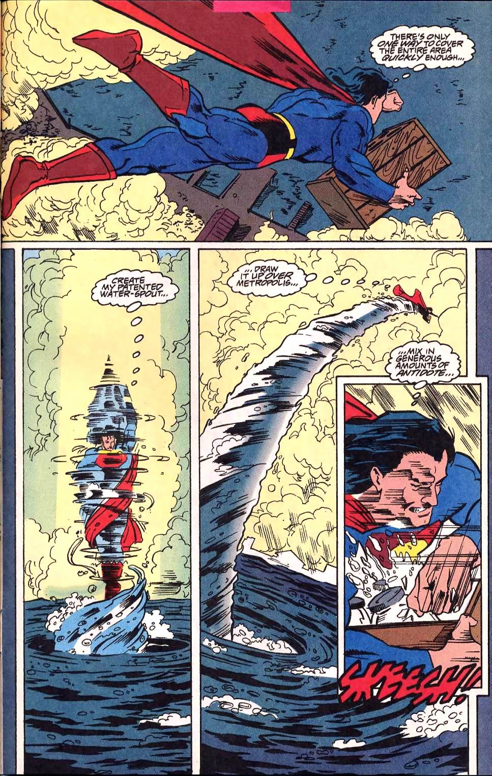 Read online Adventures of Superman (1987) comic -  Issue #514 - 20
