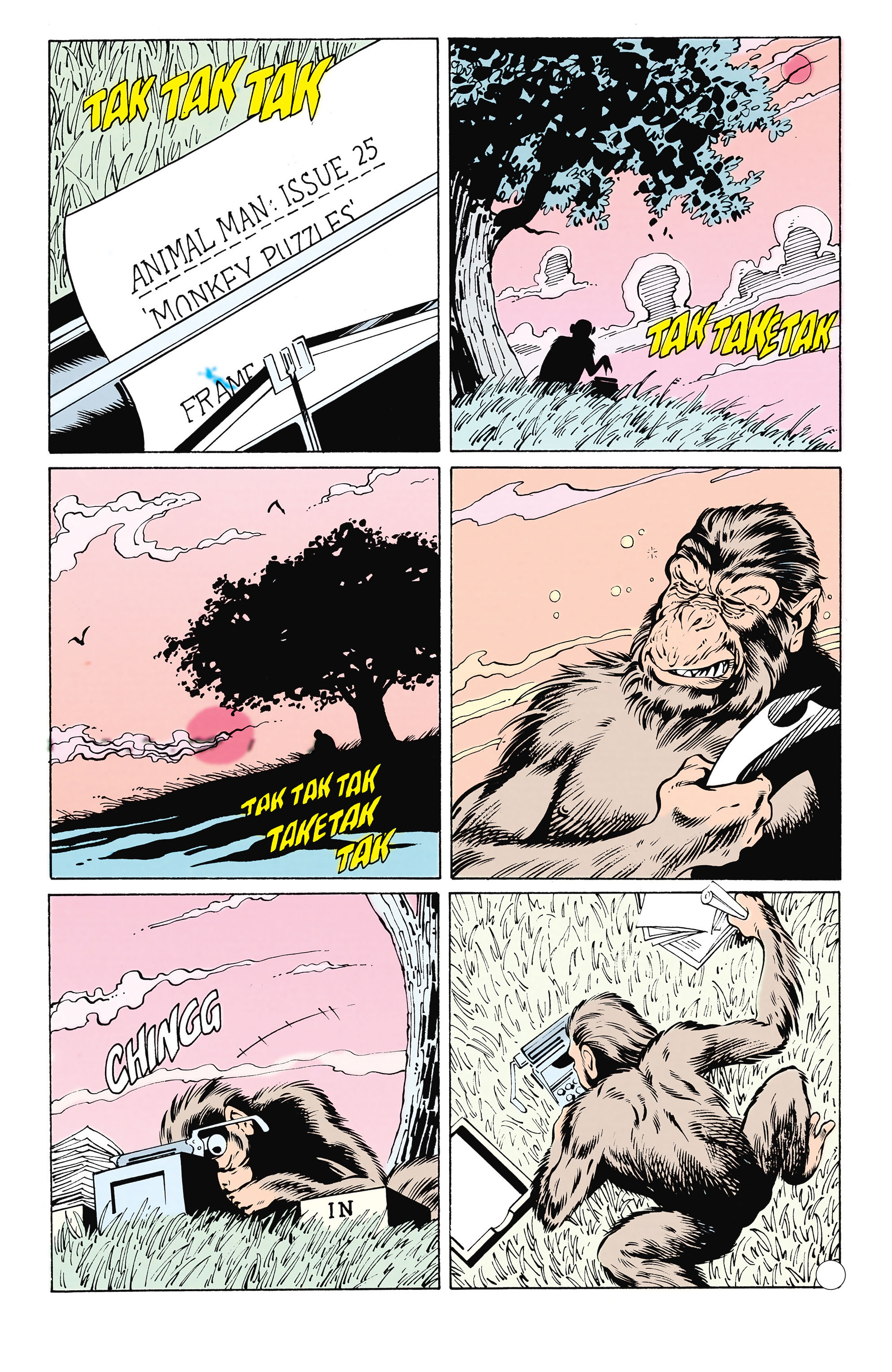 Read online Animal Man (1988) comic -  Issue #25 - 9