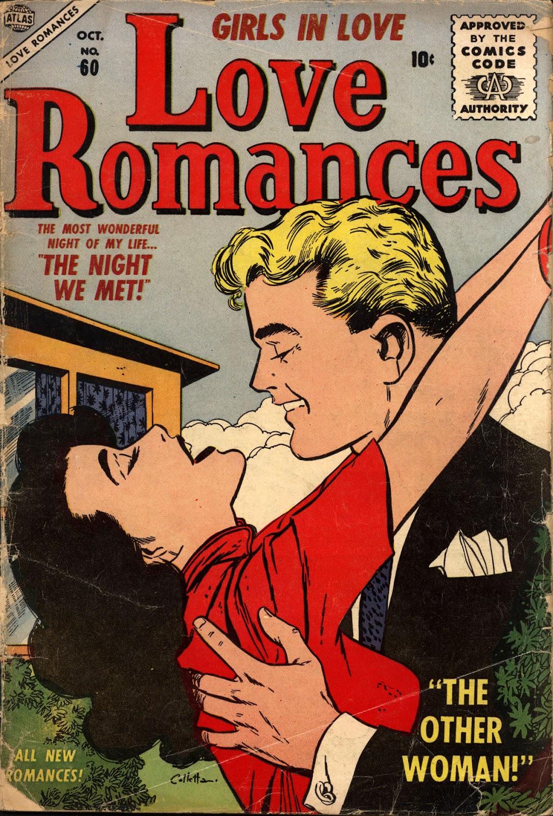 Love Romances (1949) issue 60 - Page 1