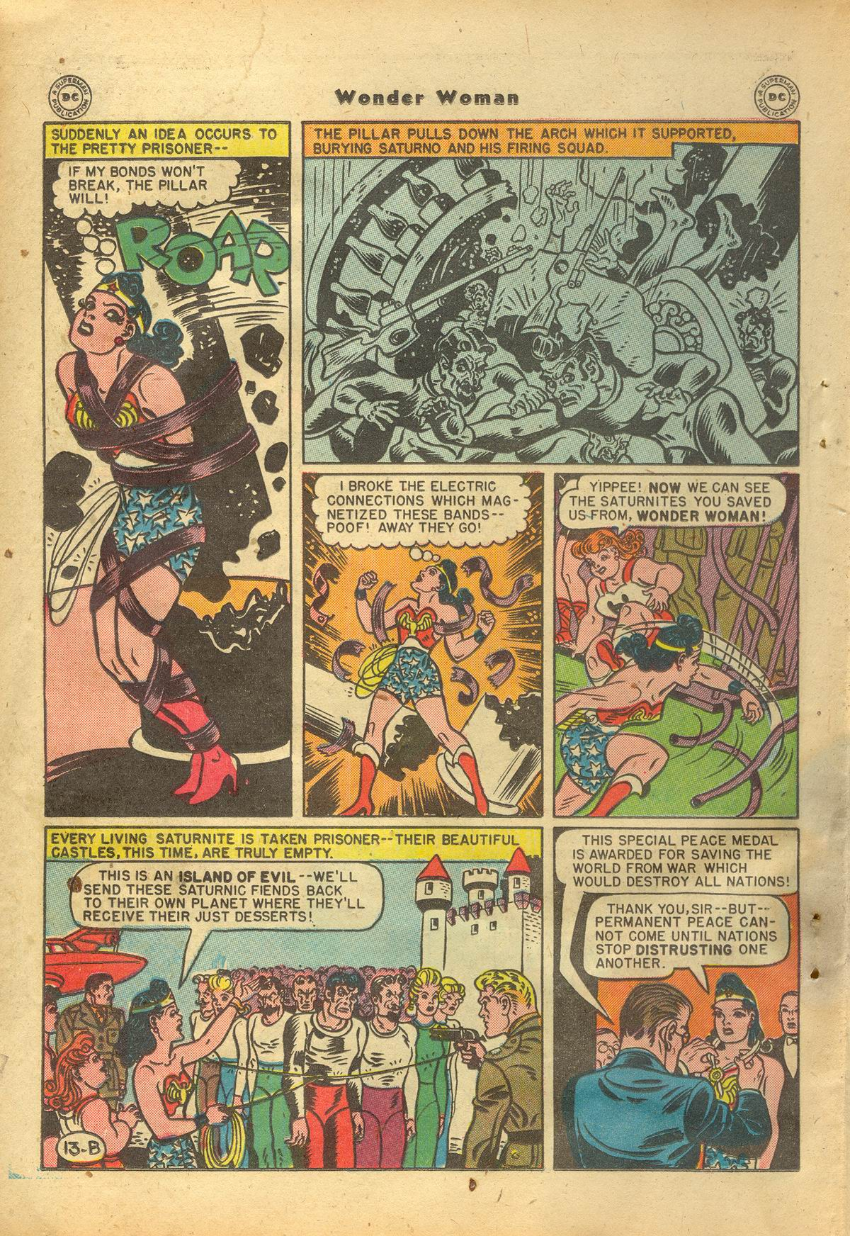 Read online Wonder Woman (1942) comic -  Issue #22 - 32