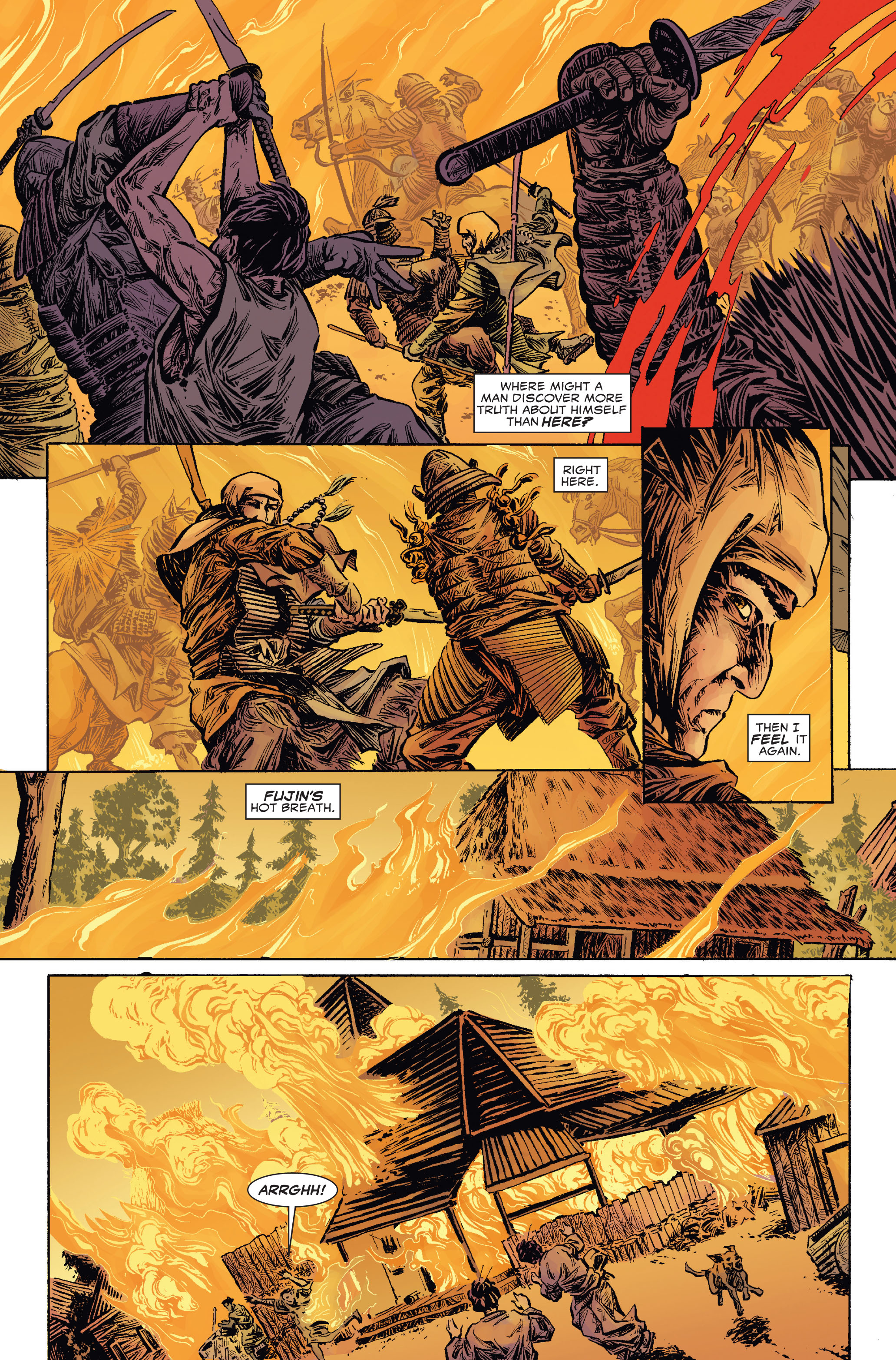 Read online 5 Ronin (2011) comic -  Issue #2 - 17