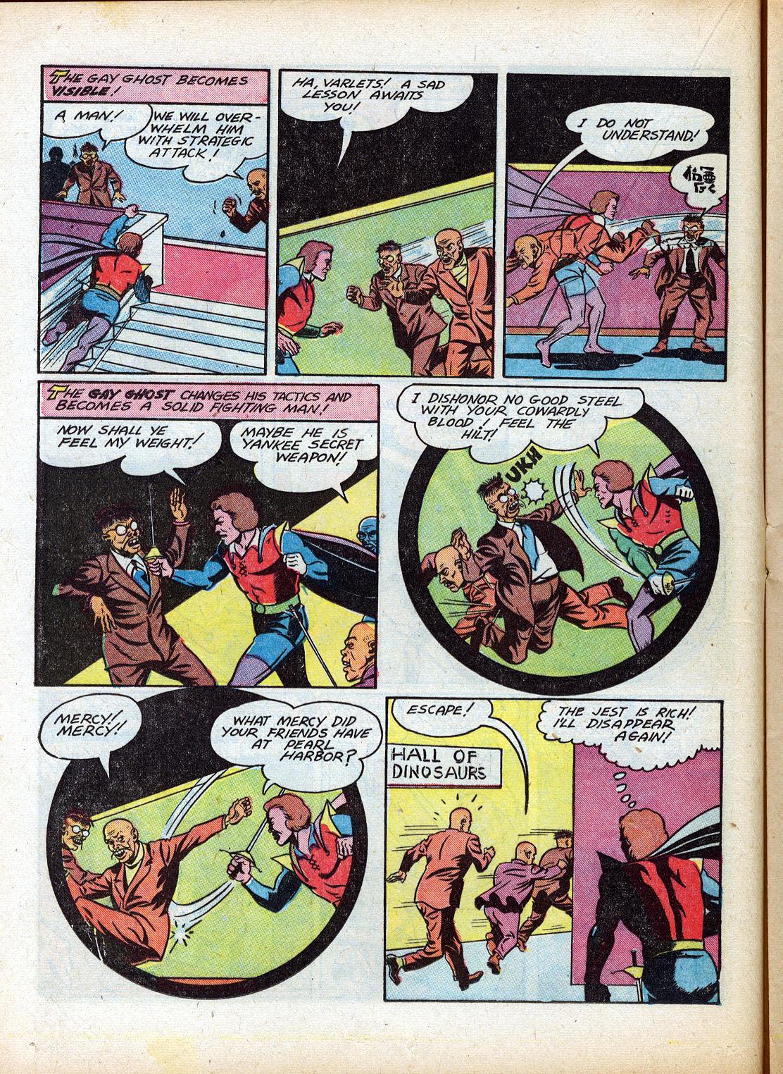 Read online Sensation (Mystery) Comics comic -  Issue #18 - 30