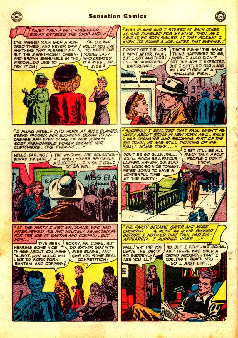 Read online Sensation (Mystery) Comics comic -  Issue #99 - 44