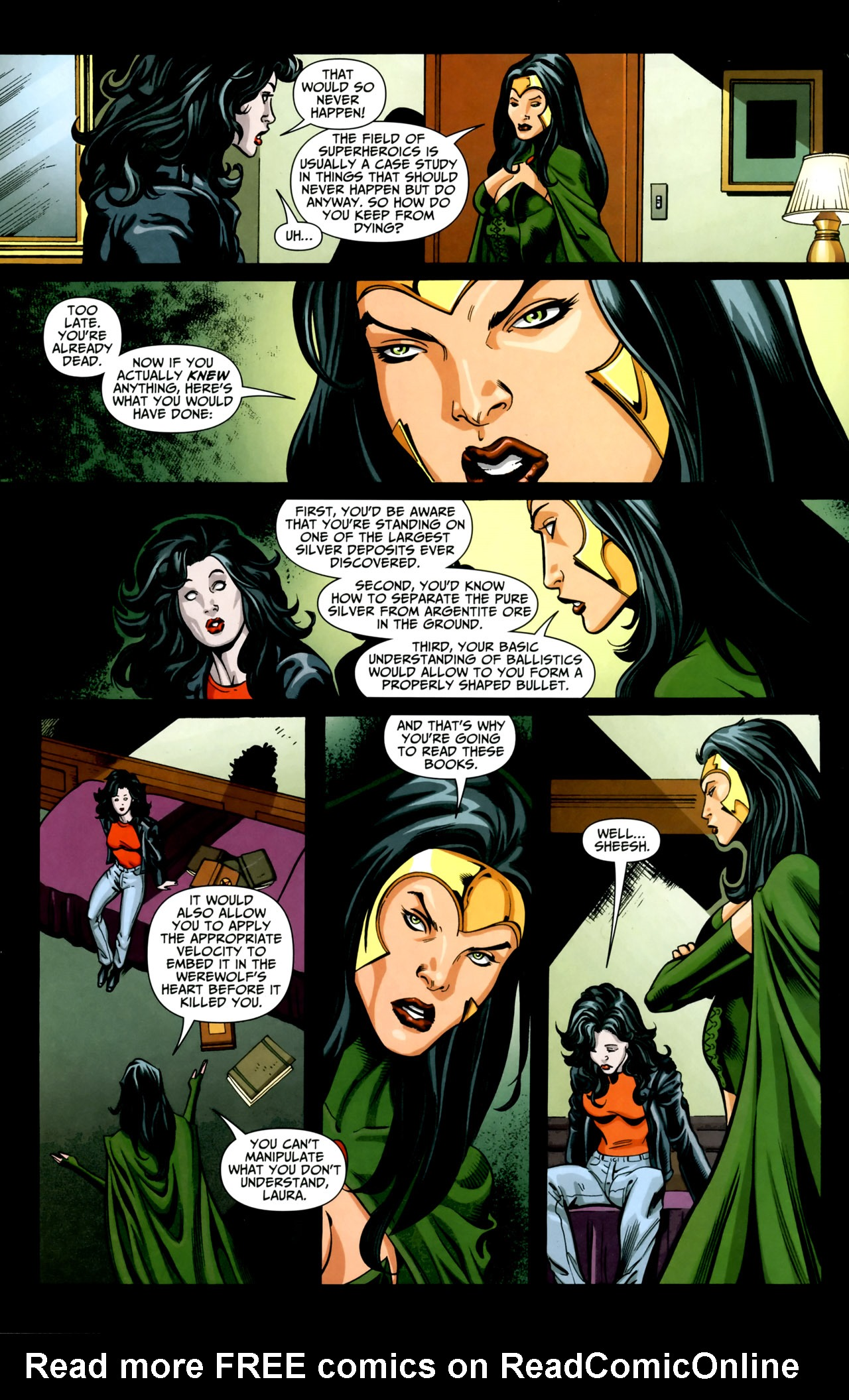 Read online Shadowpact comic -  Issue #18 - 5