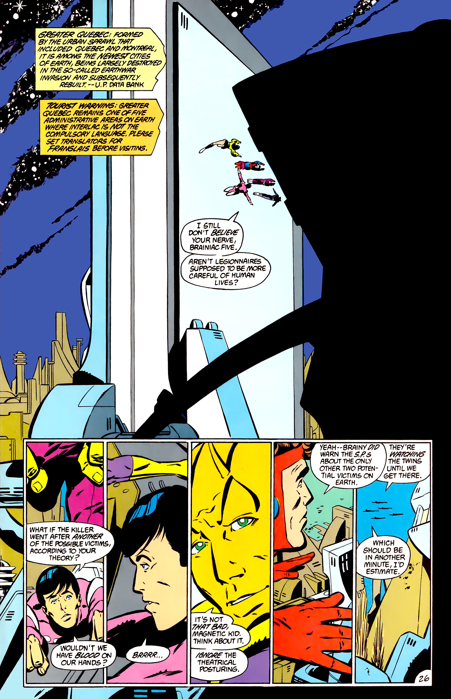 Legion of Super-Heroes (1984) _Annual_1 Page 27