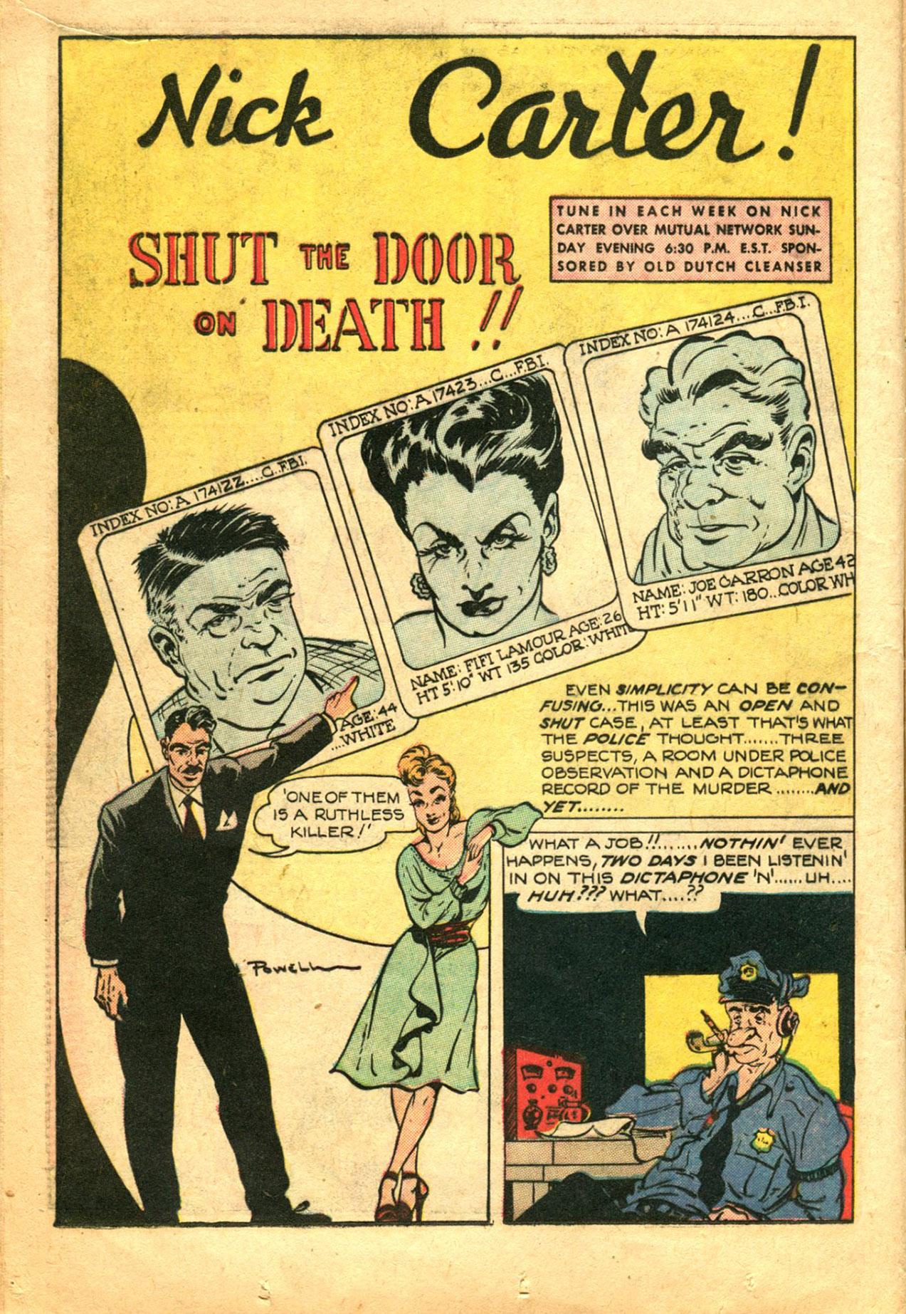 Read online Shadow Comics comic -  Issue #78 - 16