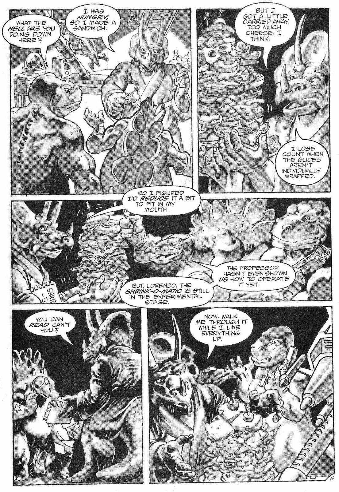 Dinosaurs For Hire (1988) issue 6 - Page 8
