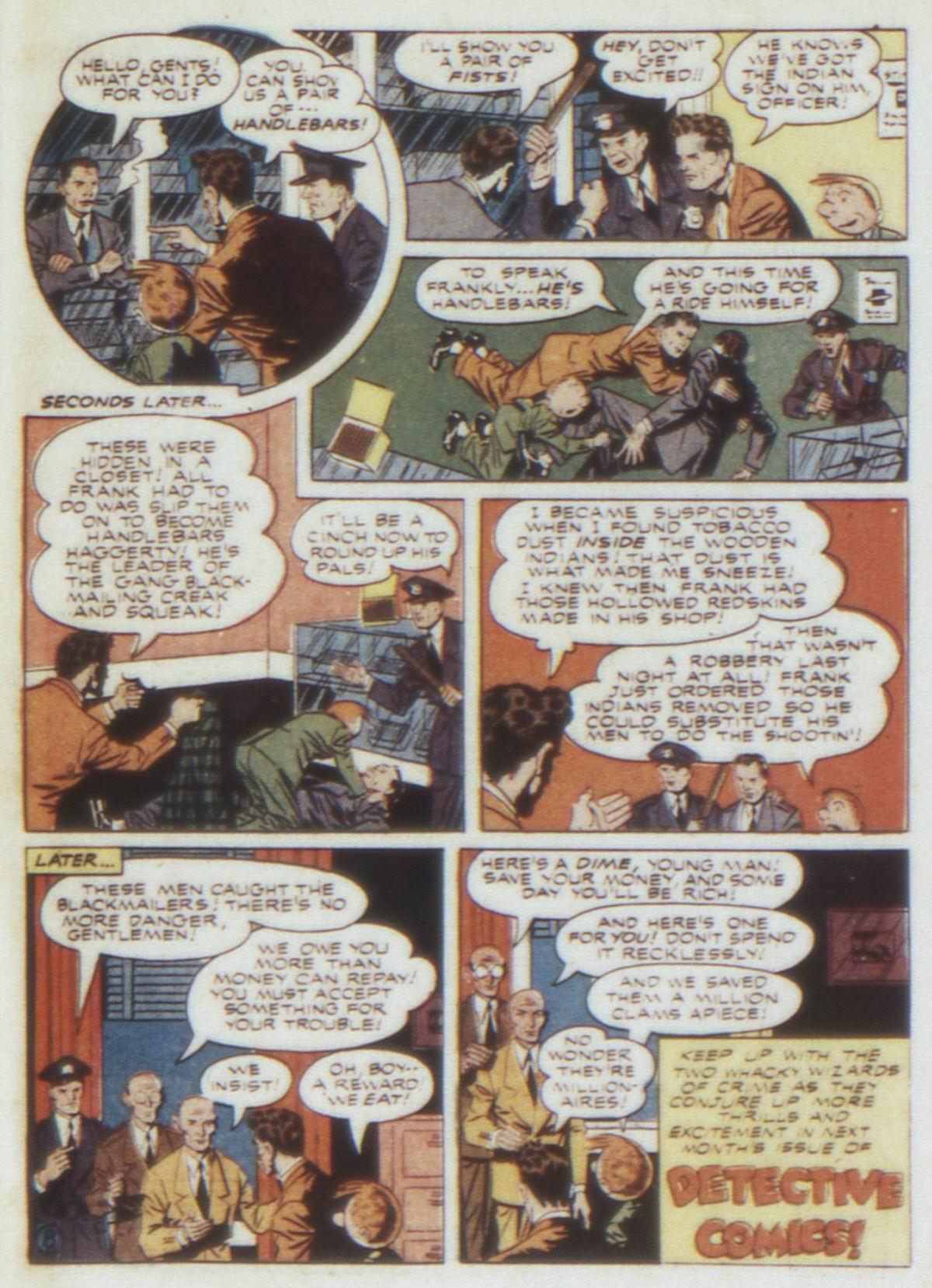 Read online Detective Comics (1937) comic -  Issue #74 - 65