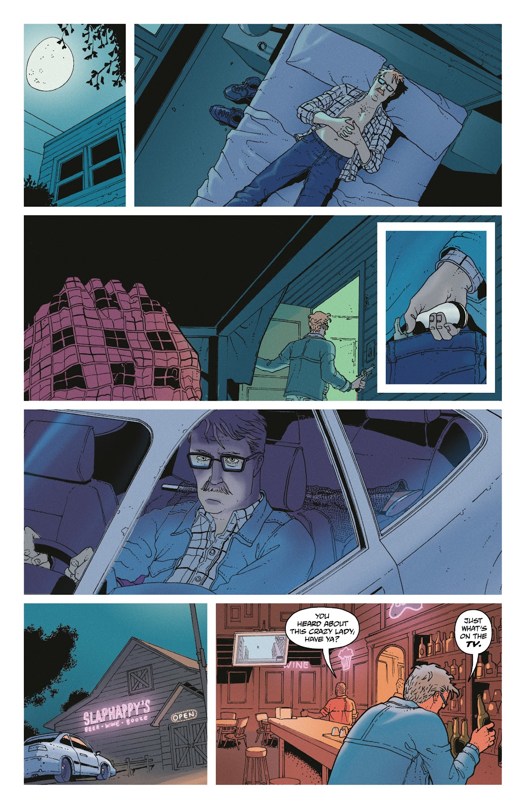 Read online She Could Fly comic -  Issue # _TPB - 22
