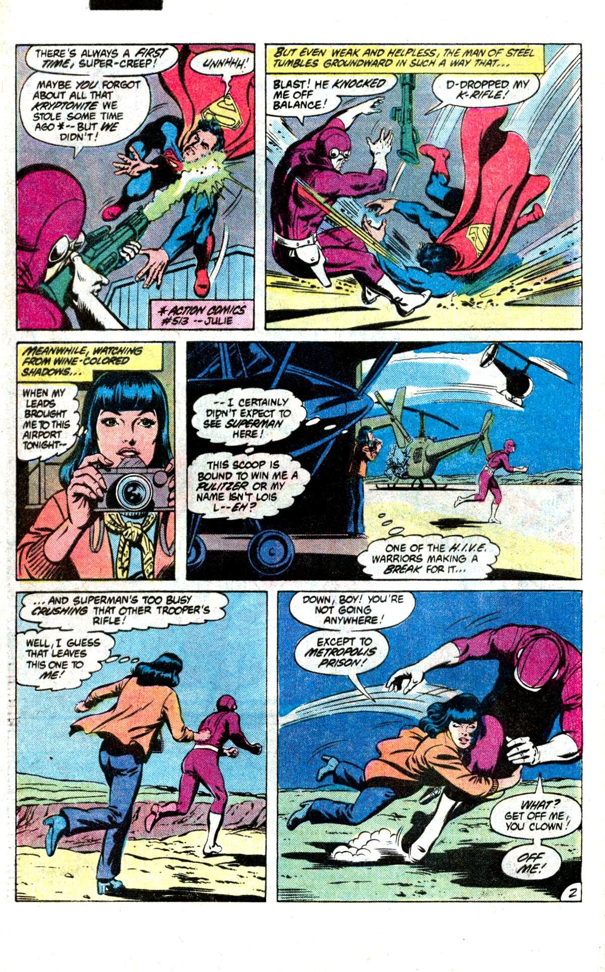 Action Comics (1938) 532 Page 2