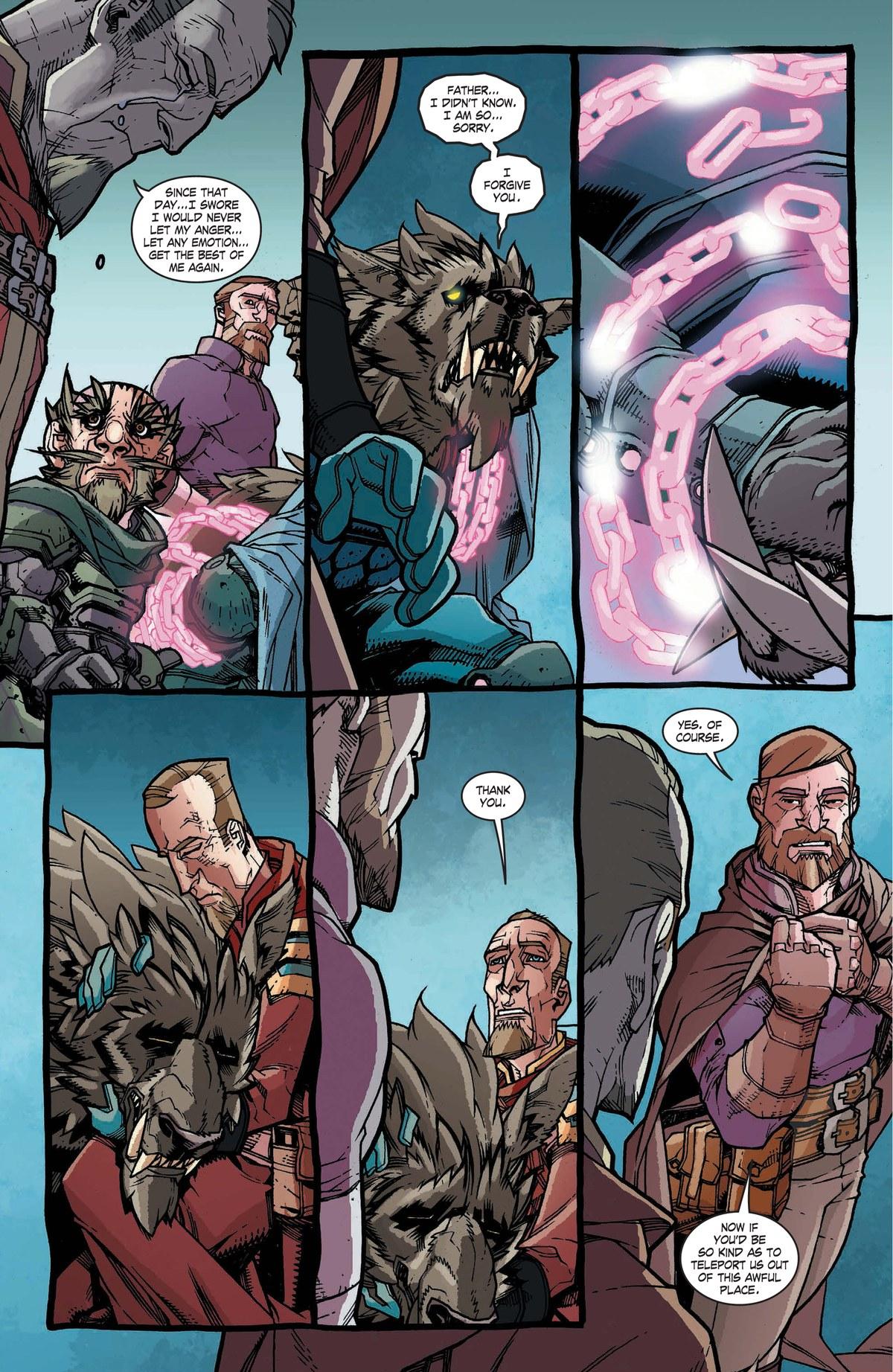 Read online World of Warcraft: Dark Riders comic -  Issue # Full - 135