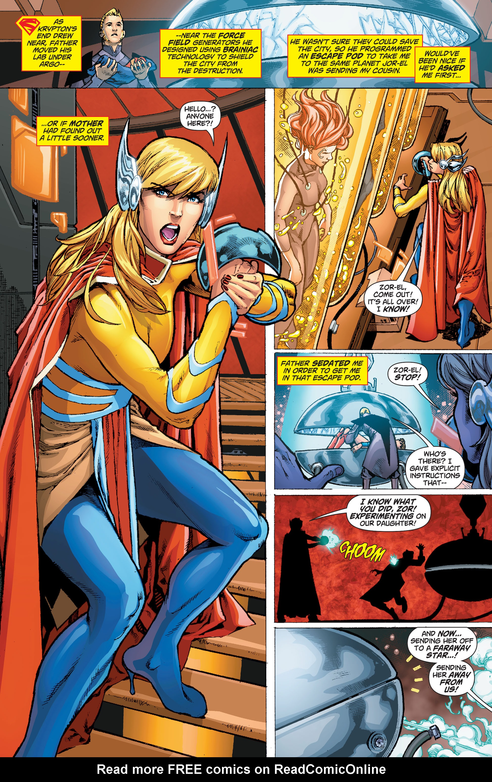 Read online Secret Origins (2014) comic -  Issue #1 - 32