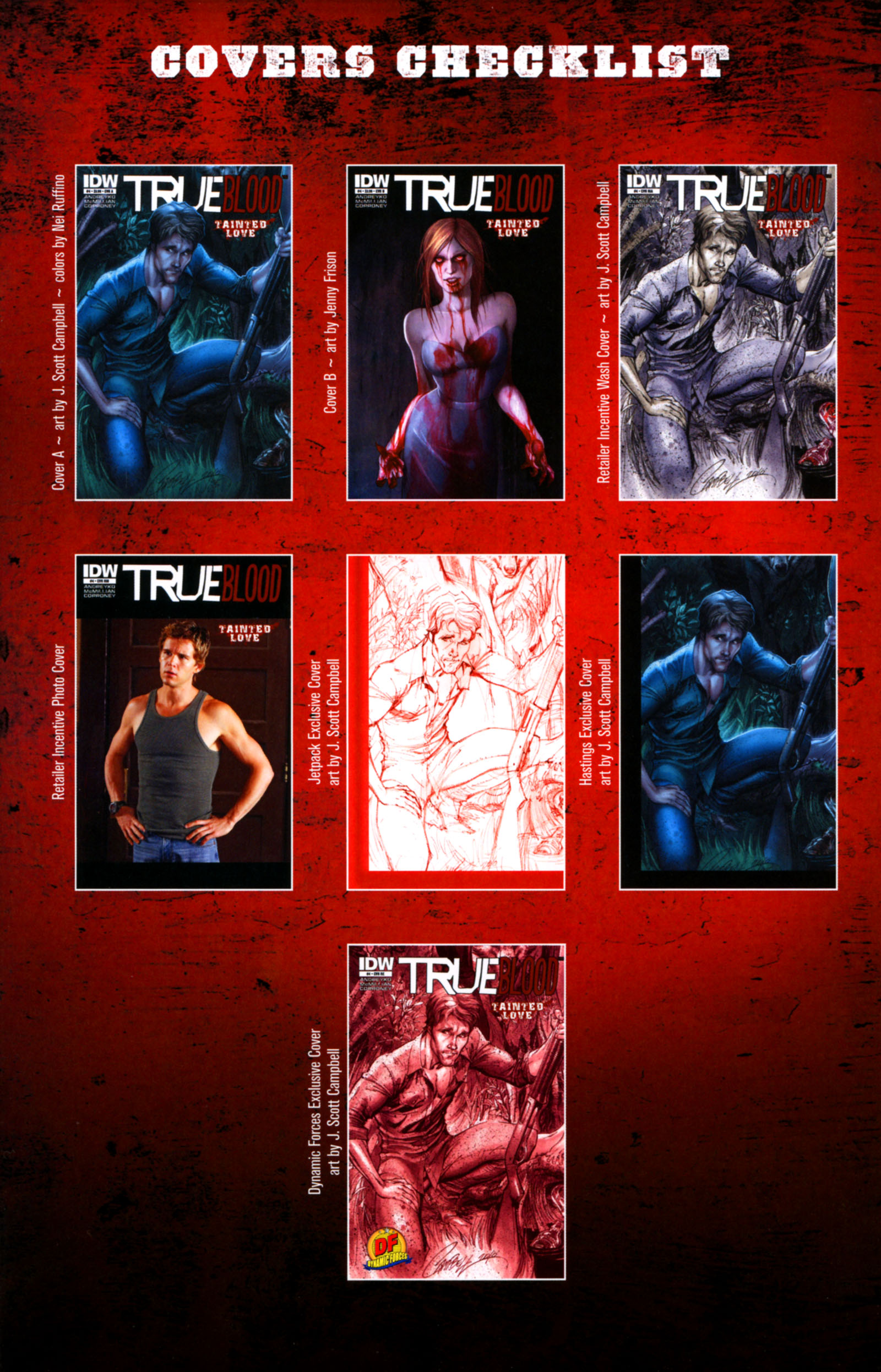 Read online True Blood: Tainted Love comic -  Issue #4 - 26