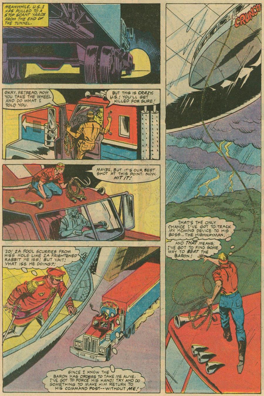 Read online U.S. 1 comic -  Issue #4 - 19