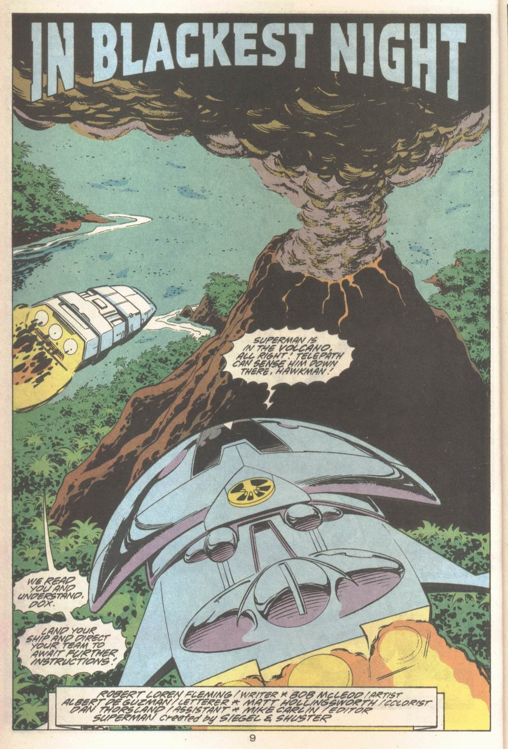 Read online Adventures of Superman (1987) comic -  Issue #Adventures of Superman (1987) _Annual 4 - 10
