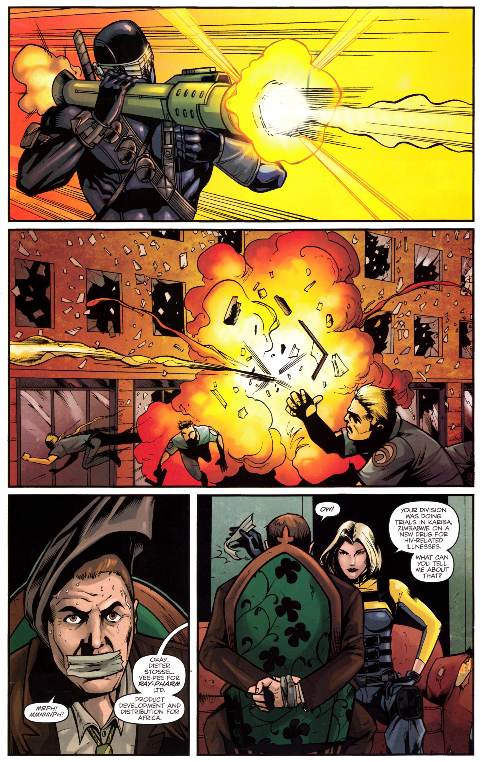 Read online G.I. Joe: Snake Eyes comic -  Issue #5 - 7