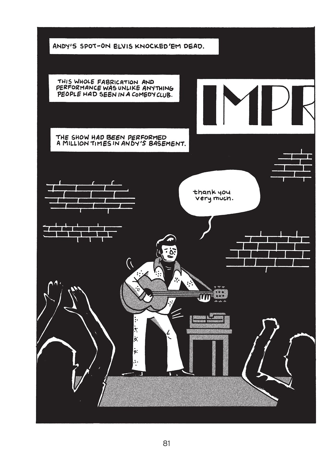 Read online Is This Guy For Real?: The Unbelievable Andy Kaufman comic -  Issue # TPB (Part 1) - 86