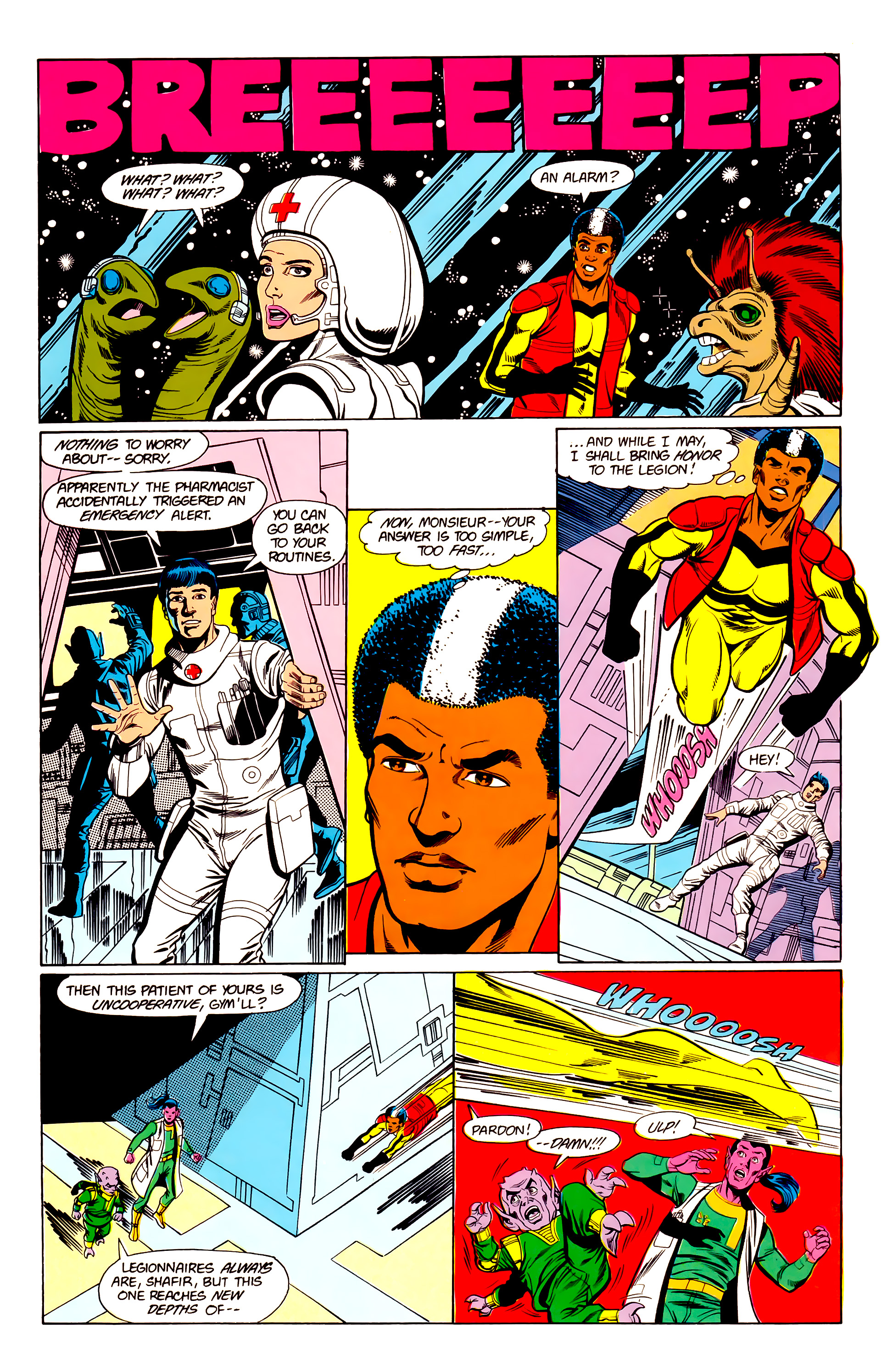 Legion of Super-Heroes (1984) 19 Page 24