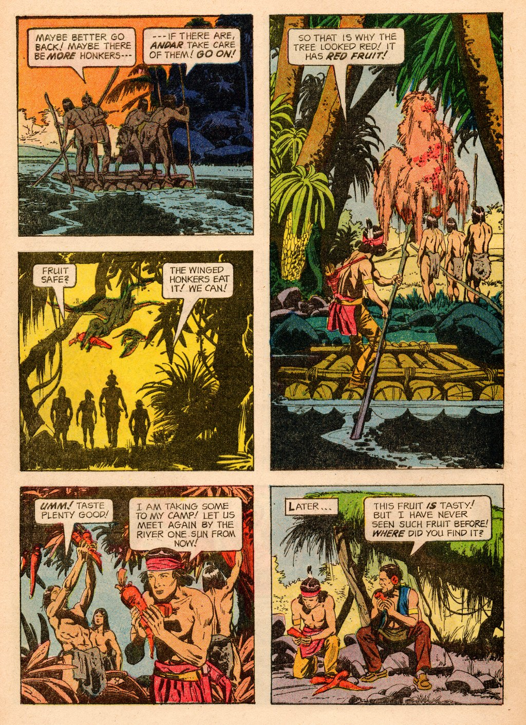 Read online Turok, Son of Stone comic -  Issue #33 - 28