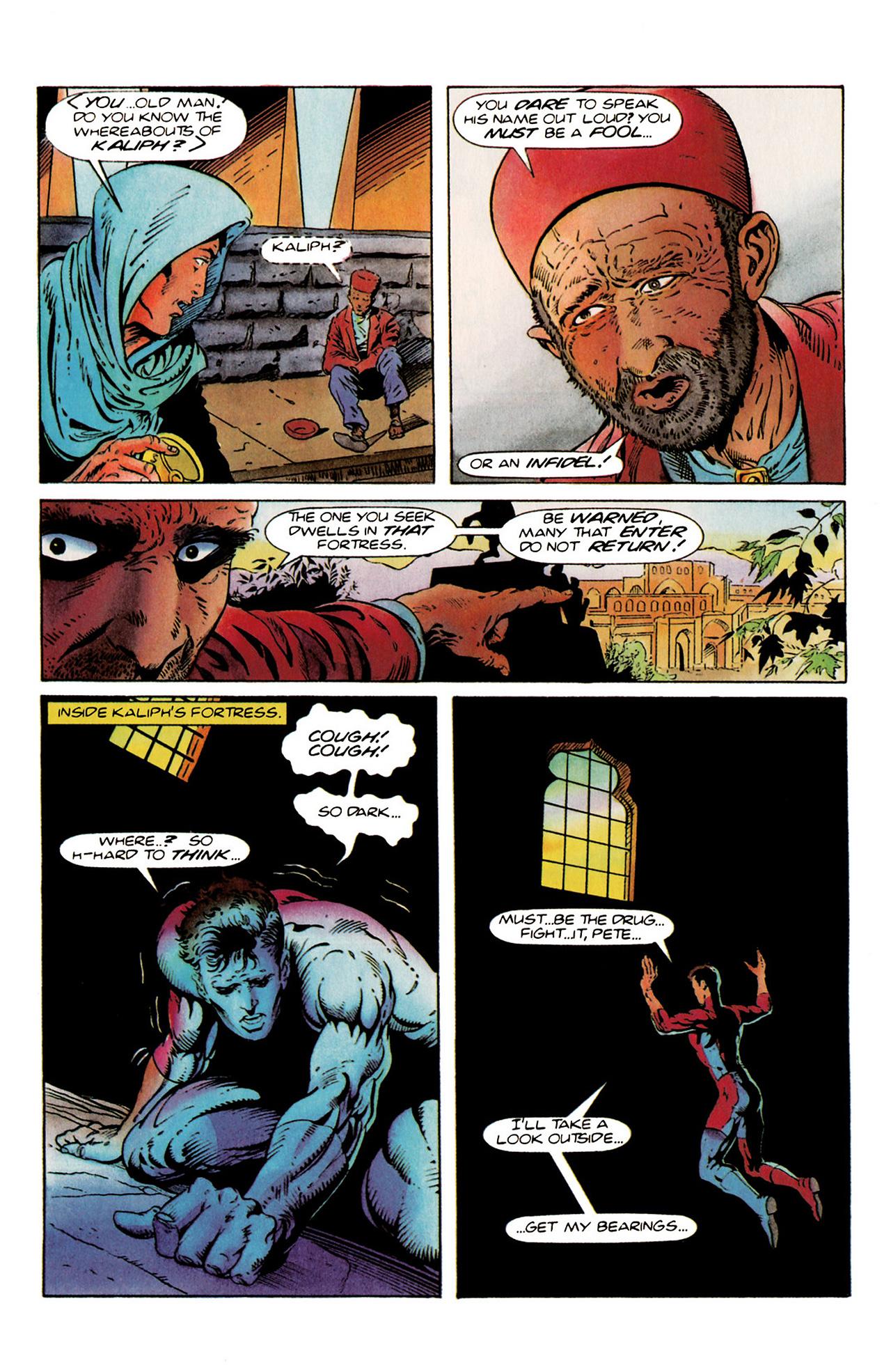 Read online Harbinger (1992) comic -  Issue #20 - 4