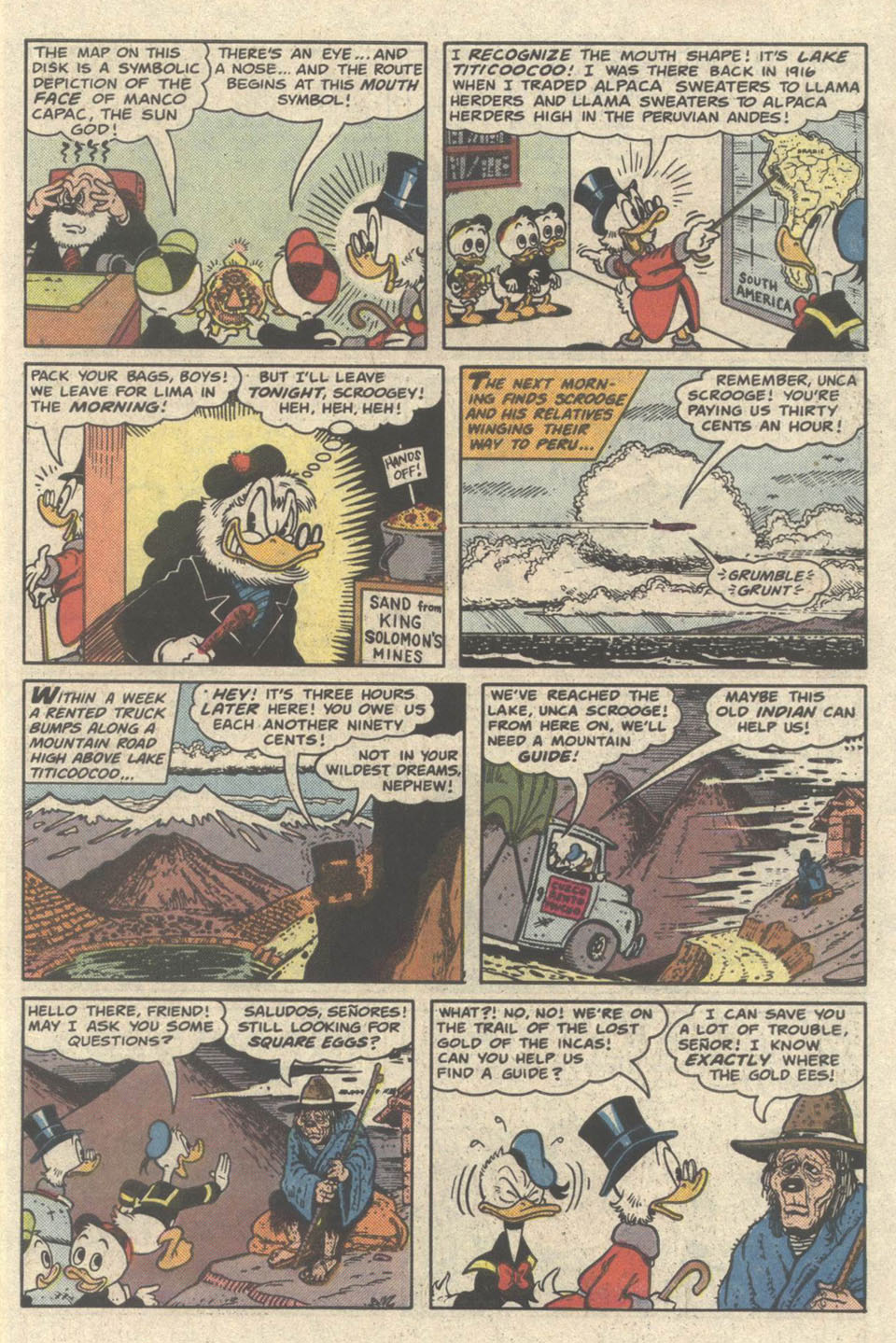 Read online Uncle Scrooge (1953) comic -  Issue #219 - 7