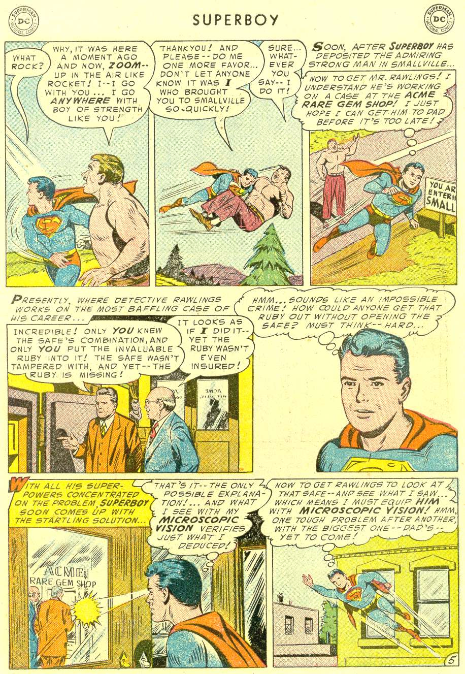 Superboy (1949) issue 42 - Page 6