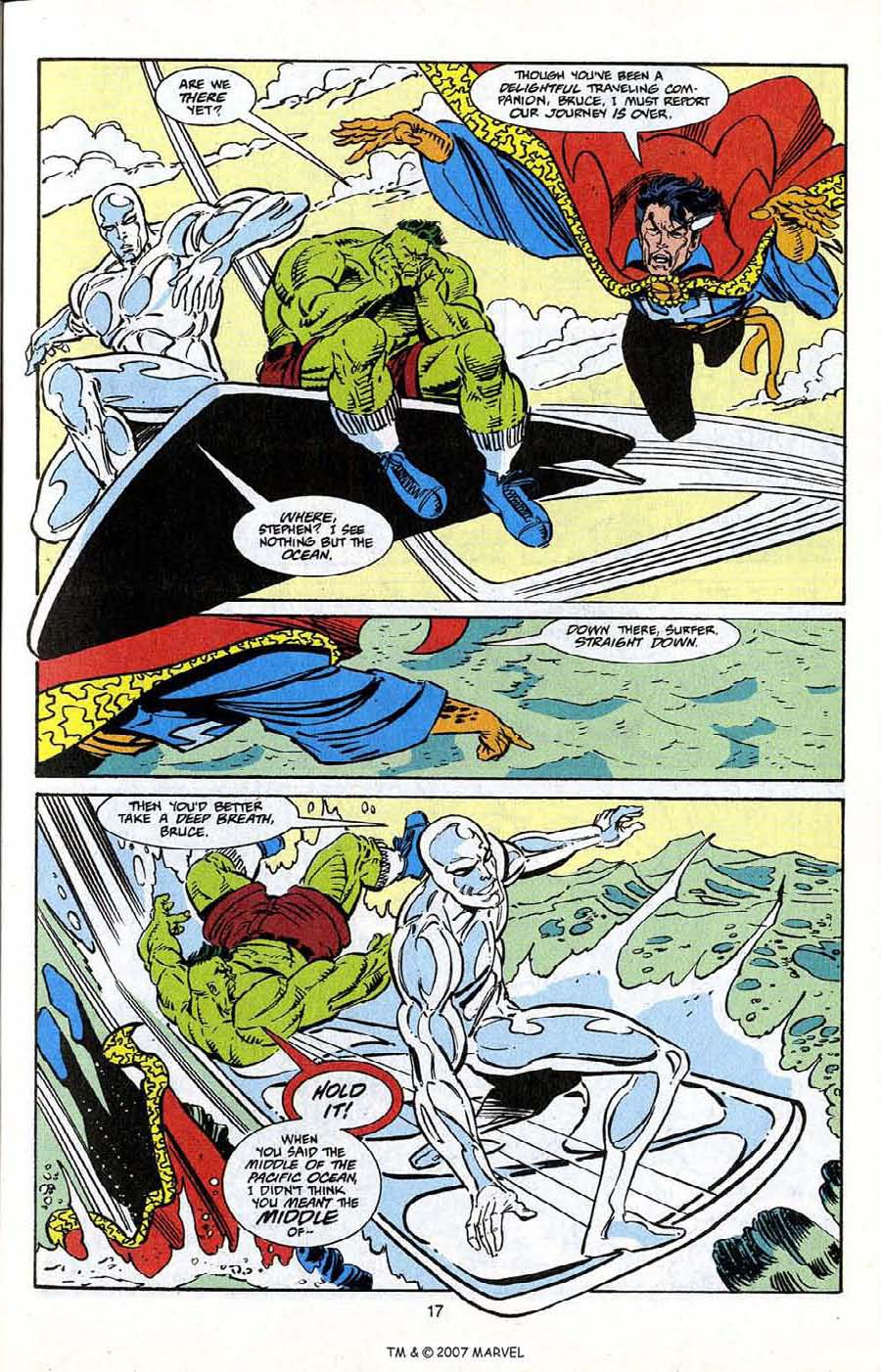 Read online Silver Surfer (1987) comic -  Issue # _Annual 5 - 19