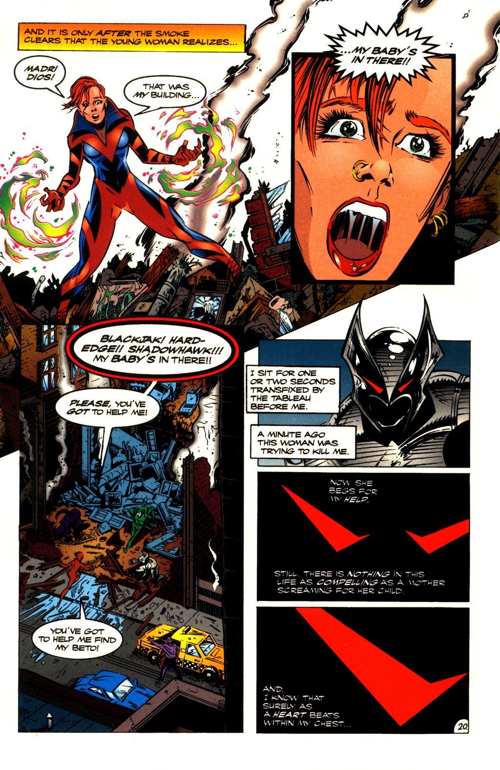 Read online ShadowHawk comic -  Issue #10 - 21