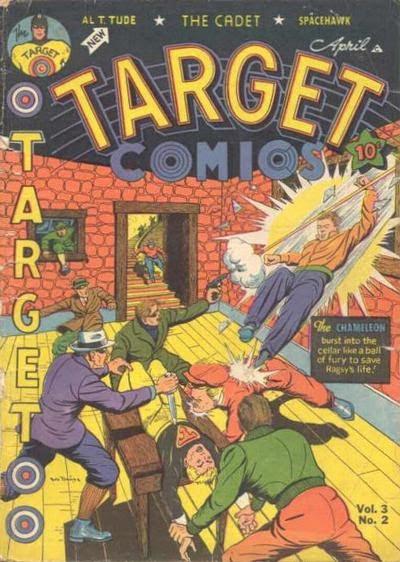 Target Comics 26 Page 1