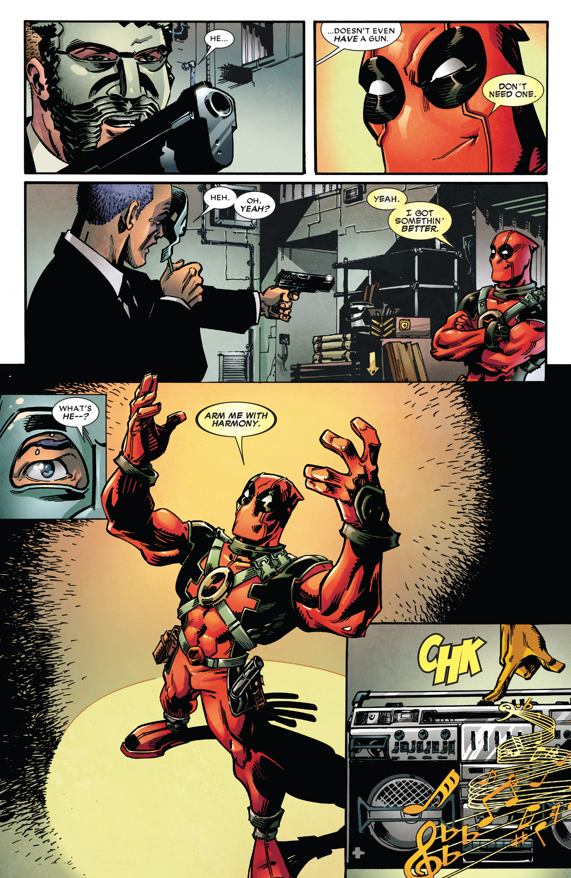 Read online True Believers: Deadpool the Musical comic -  Issue # Full - 4