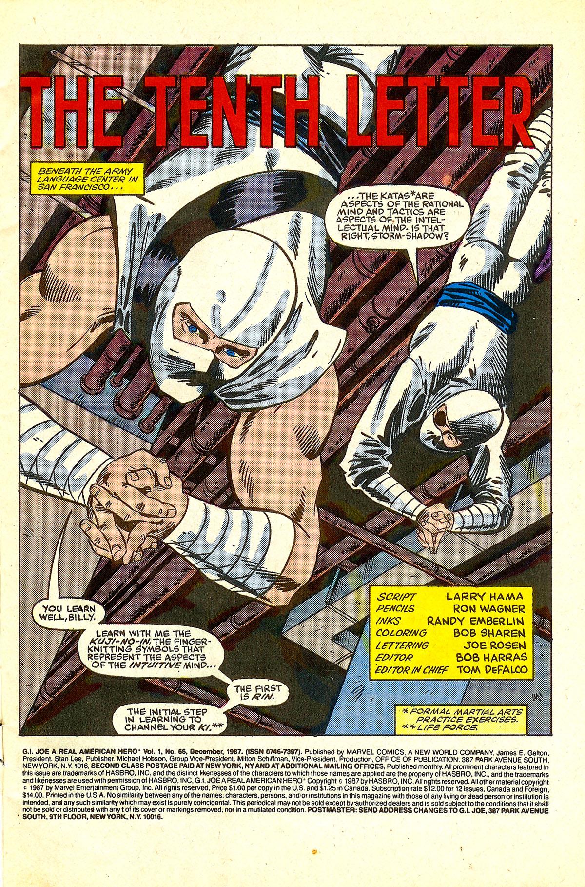 G.I. Joe: A Real American Hero 66 Page 2