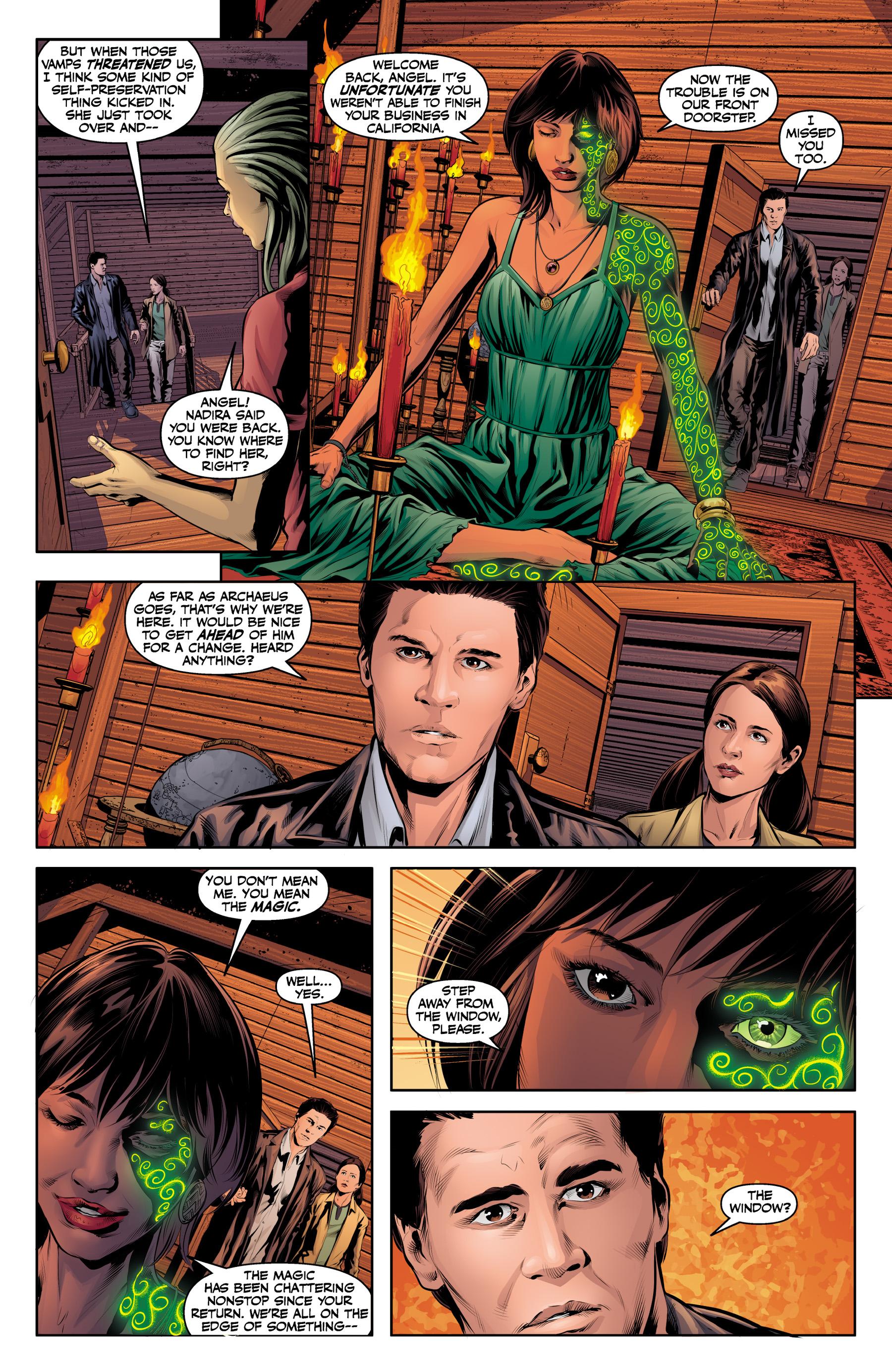 Read online Angel & Faith Season 10 comic -  Issue #19 - 17